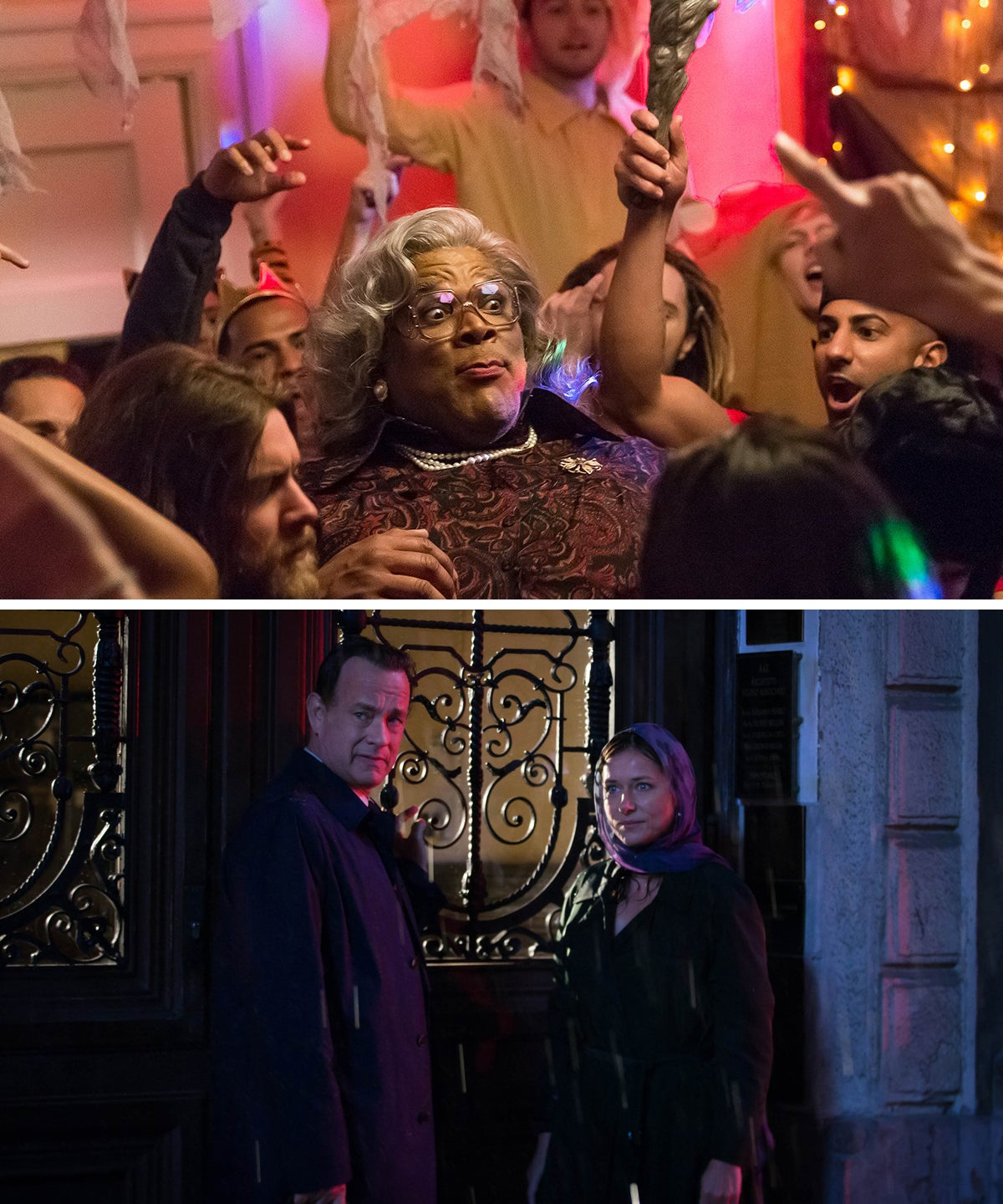 Scenes from Boo! A Madea Halloween and Inferno