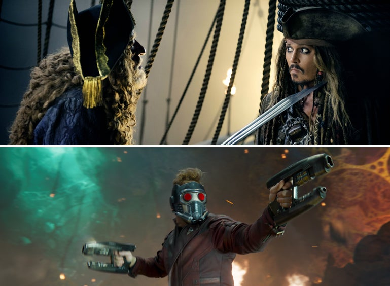 Pirates of the Caribbean: Dead Men Tell No Tales and Guardians of the Galaxy Vol. 2