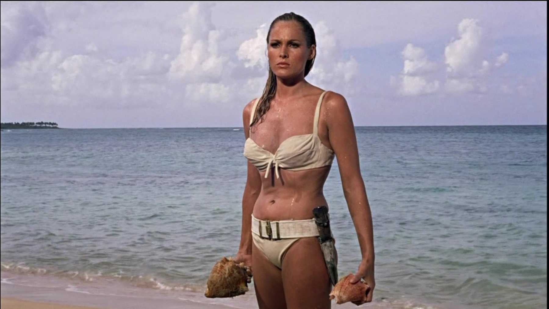 "Ursula Andress in a scene from ""Dr No"", 1962"