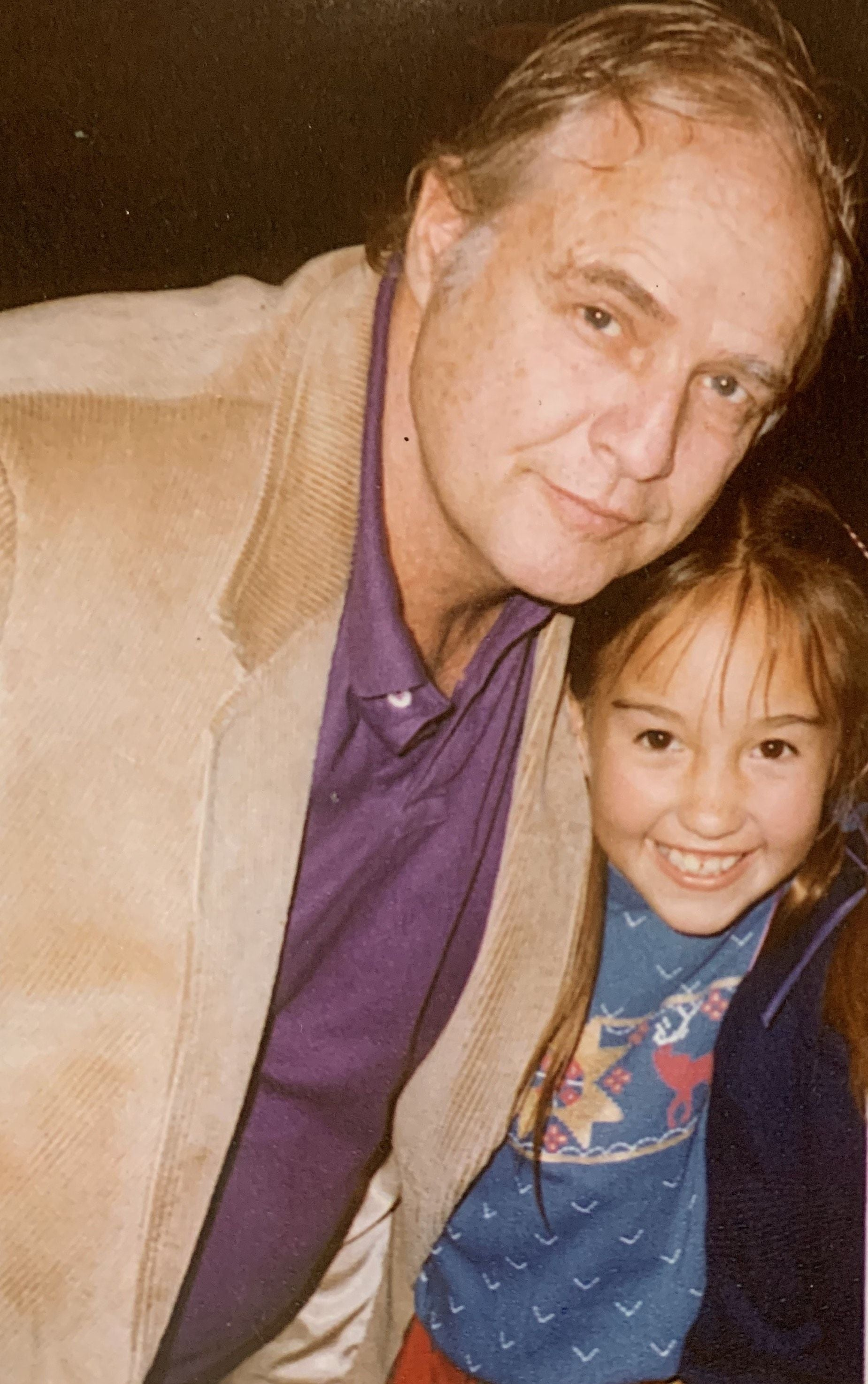 Marlon Brando and daughter Petra