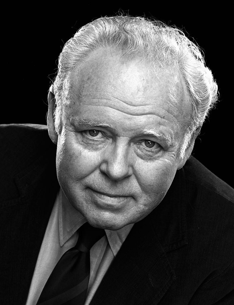 Actor and comedian Carroll OConnor