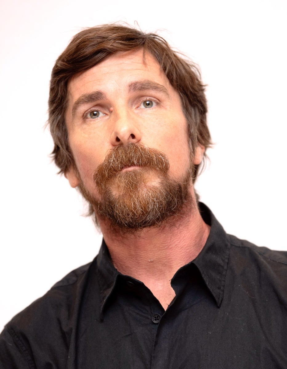 Actor Christian Bale, Golden Globe winner