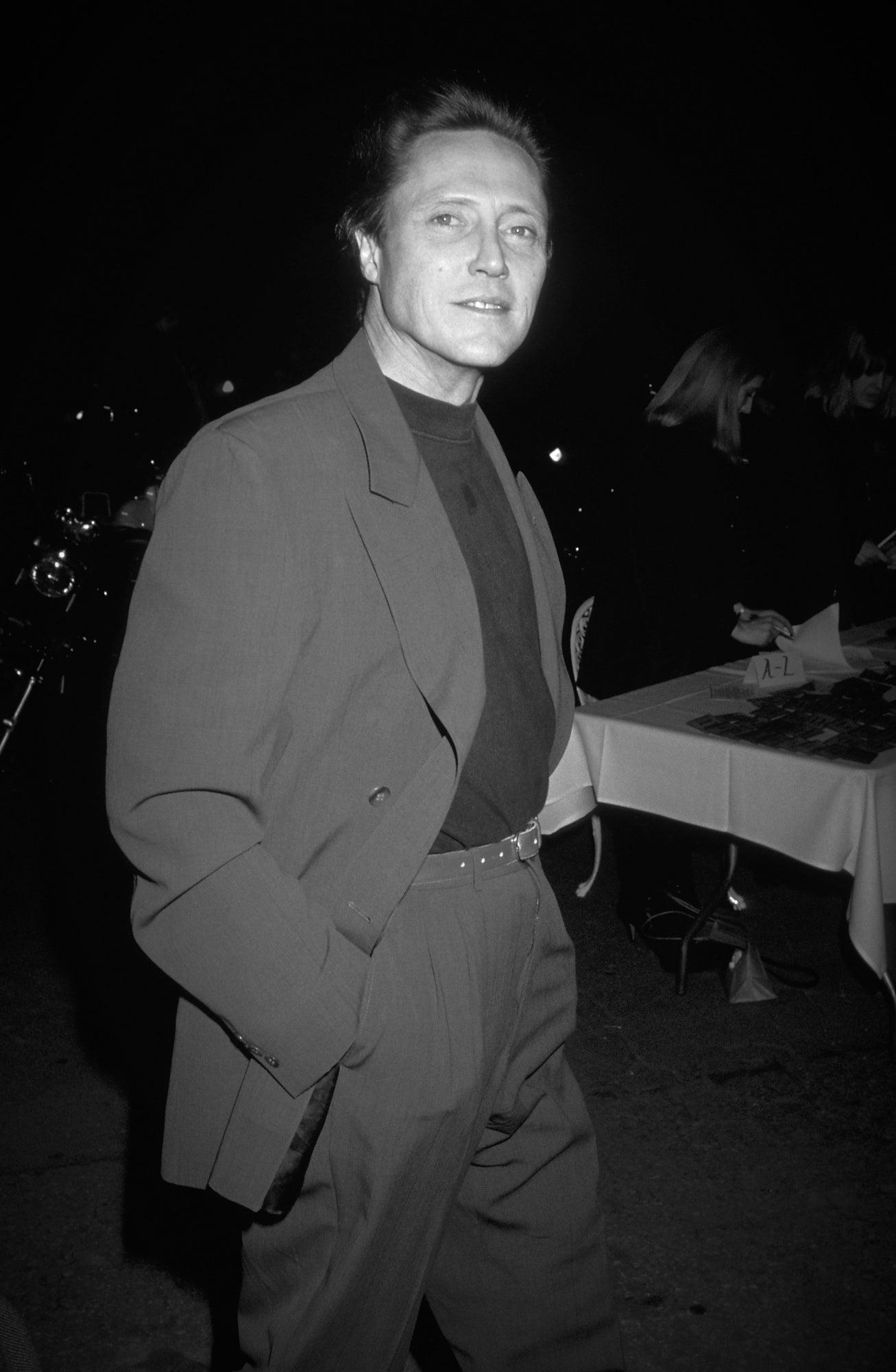 Actor Christopher Walken, Golden Globe nominee
