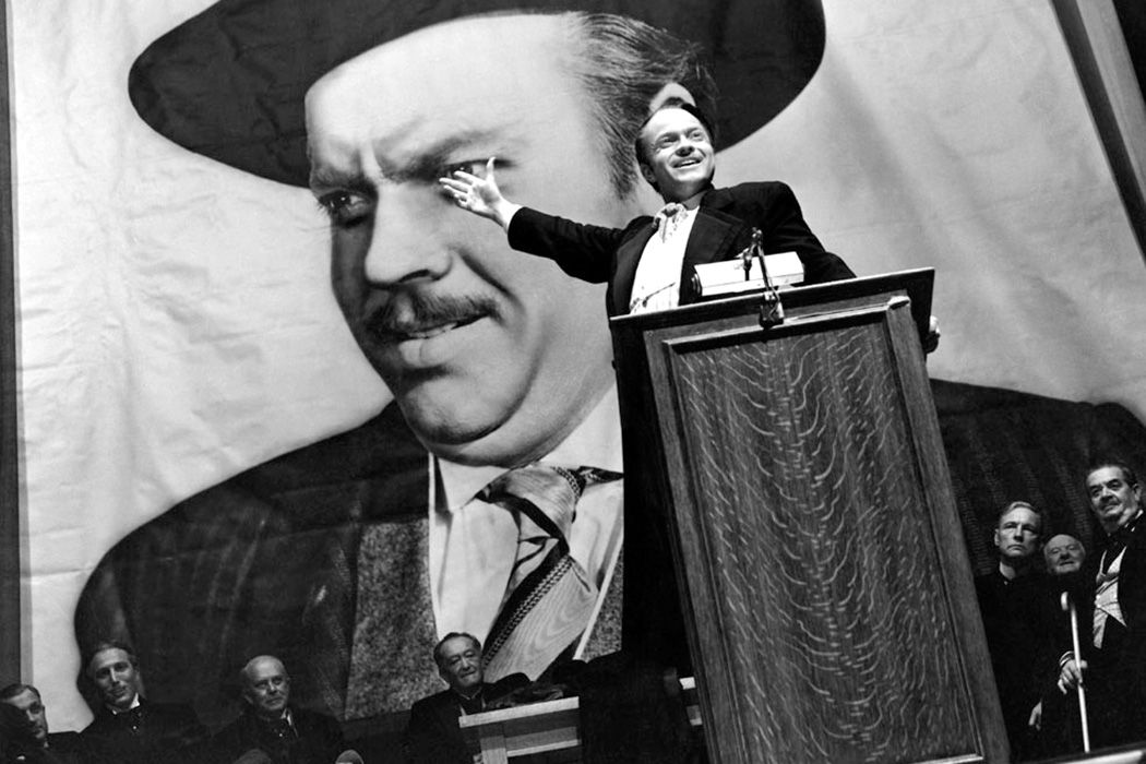 "A scene from ""Citizen Kane"", 1941"