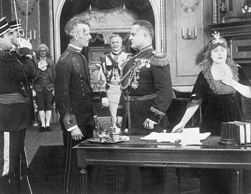 """Scene from """"Civilization"""" (1916)"""