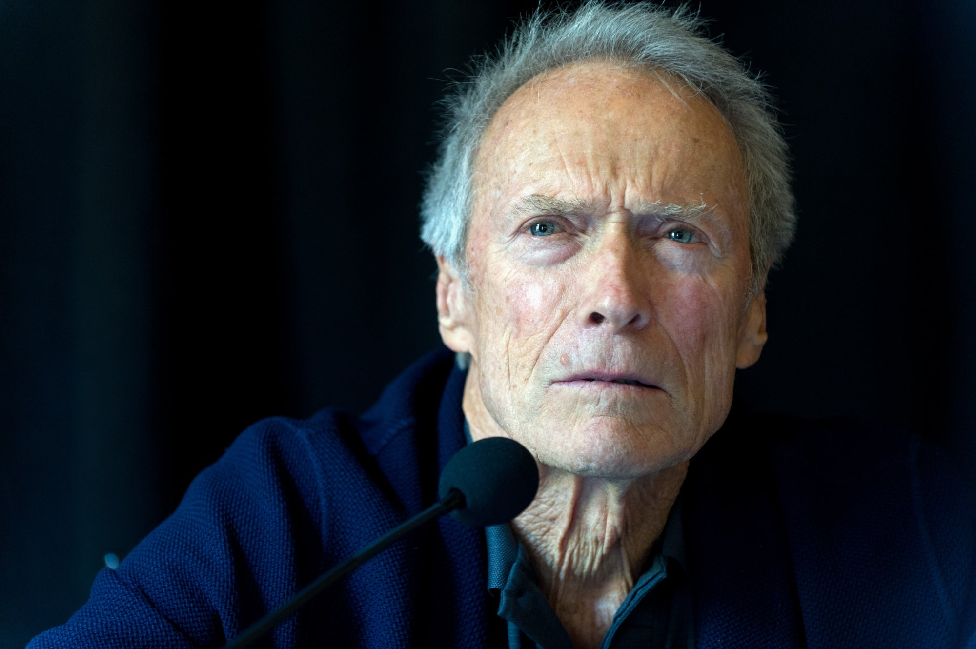 Actor and director Clint Eastwood, Golden Globe winner