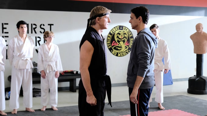 "A scene from ""Cobra Kai"", 2020"