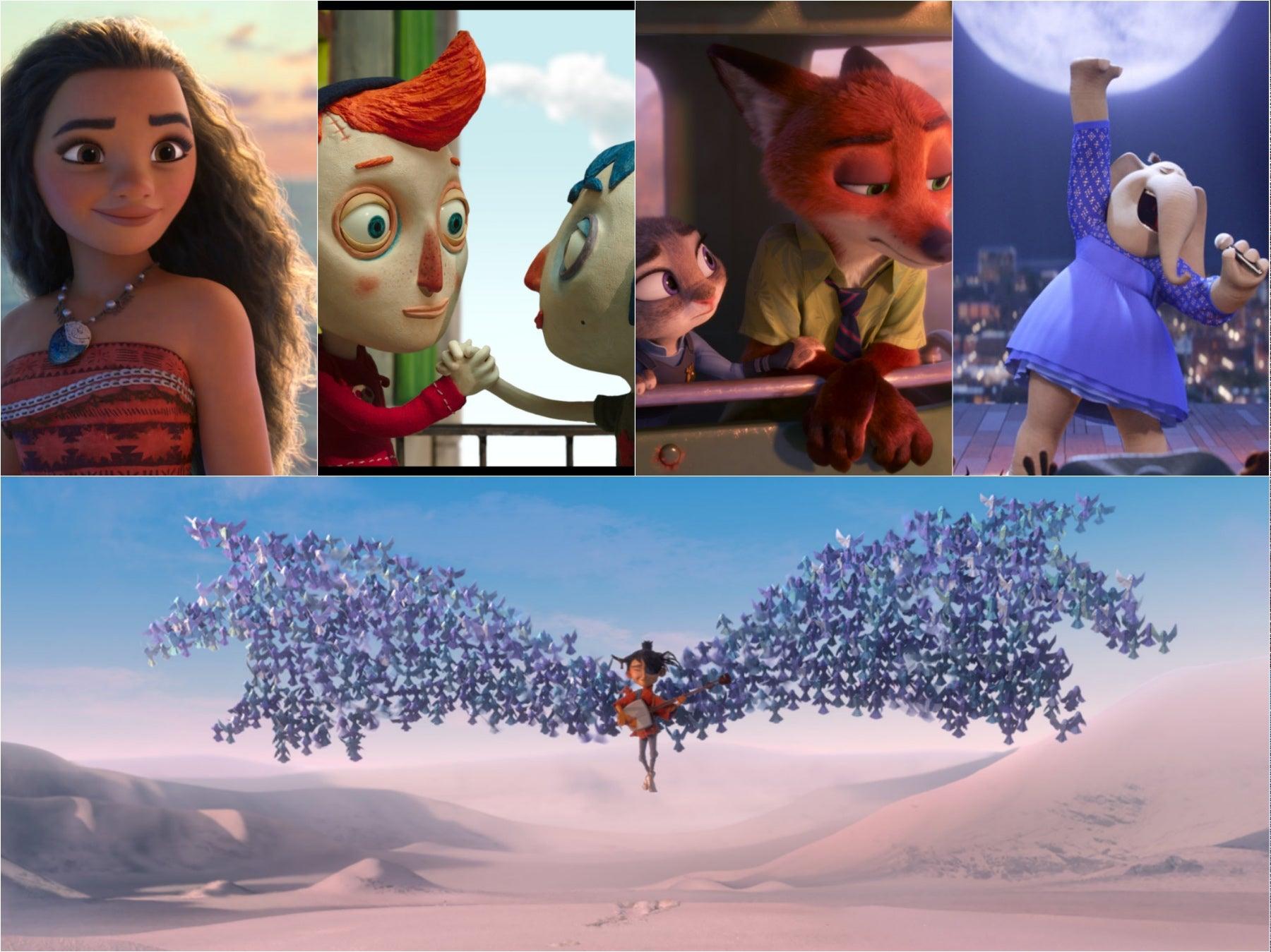 Scenes from the nominees Animaton 2017