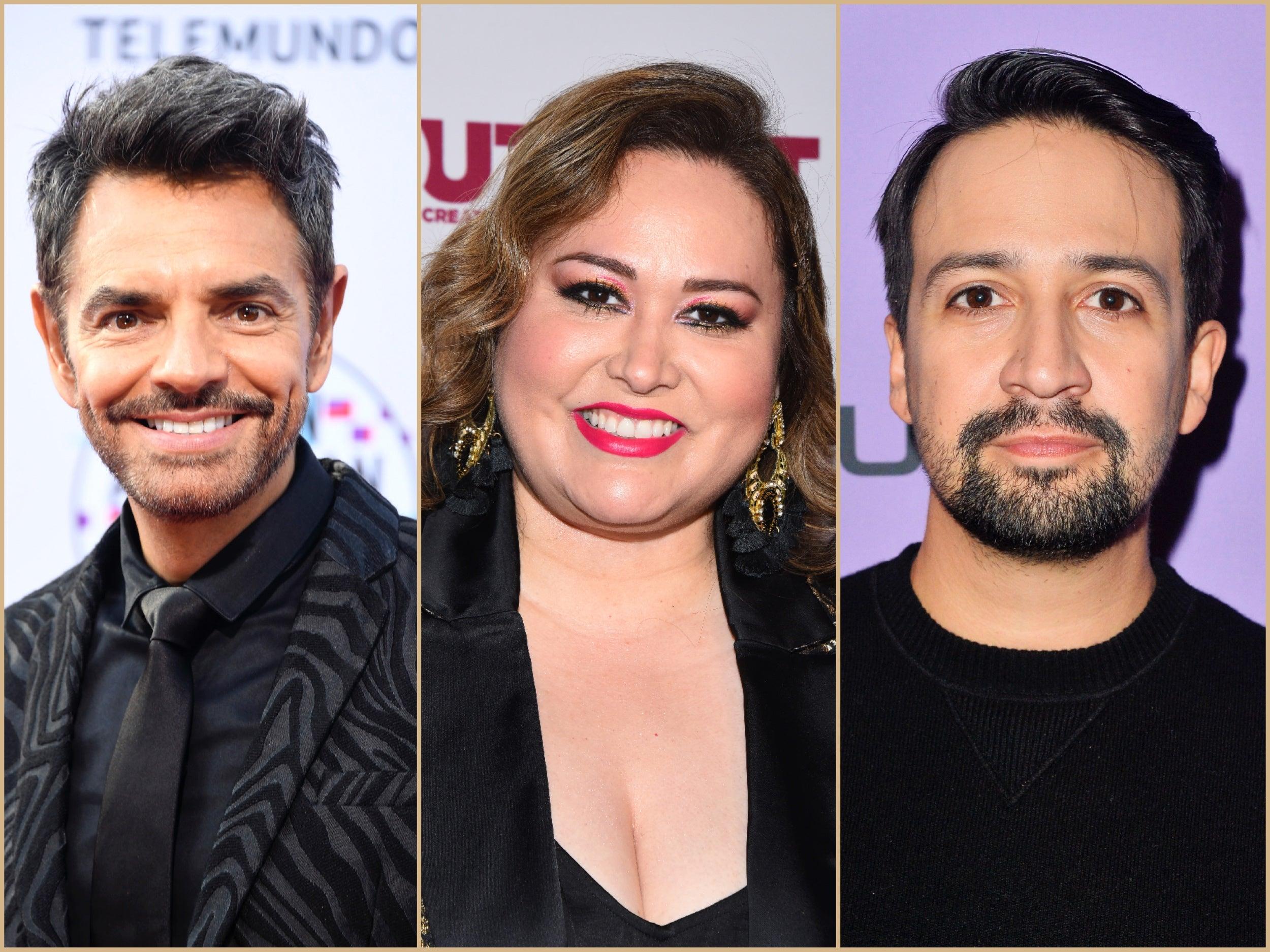 Eugenio Derbez, Tanya Saracho and Lin-Manuel Miranda