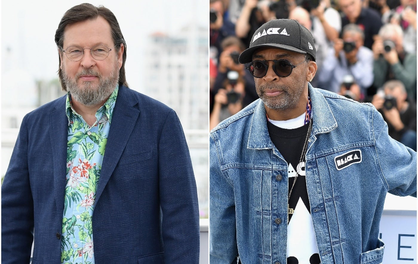 Filmmakers Spike Lee and Lars Von Trier