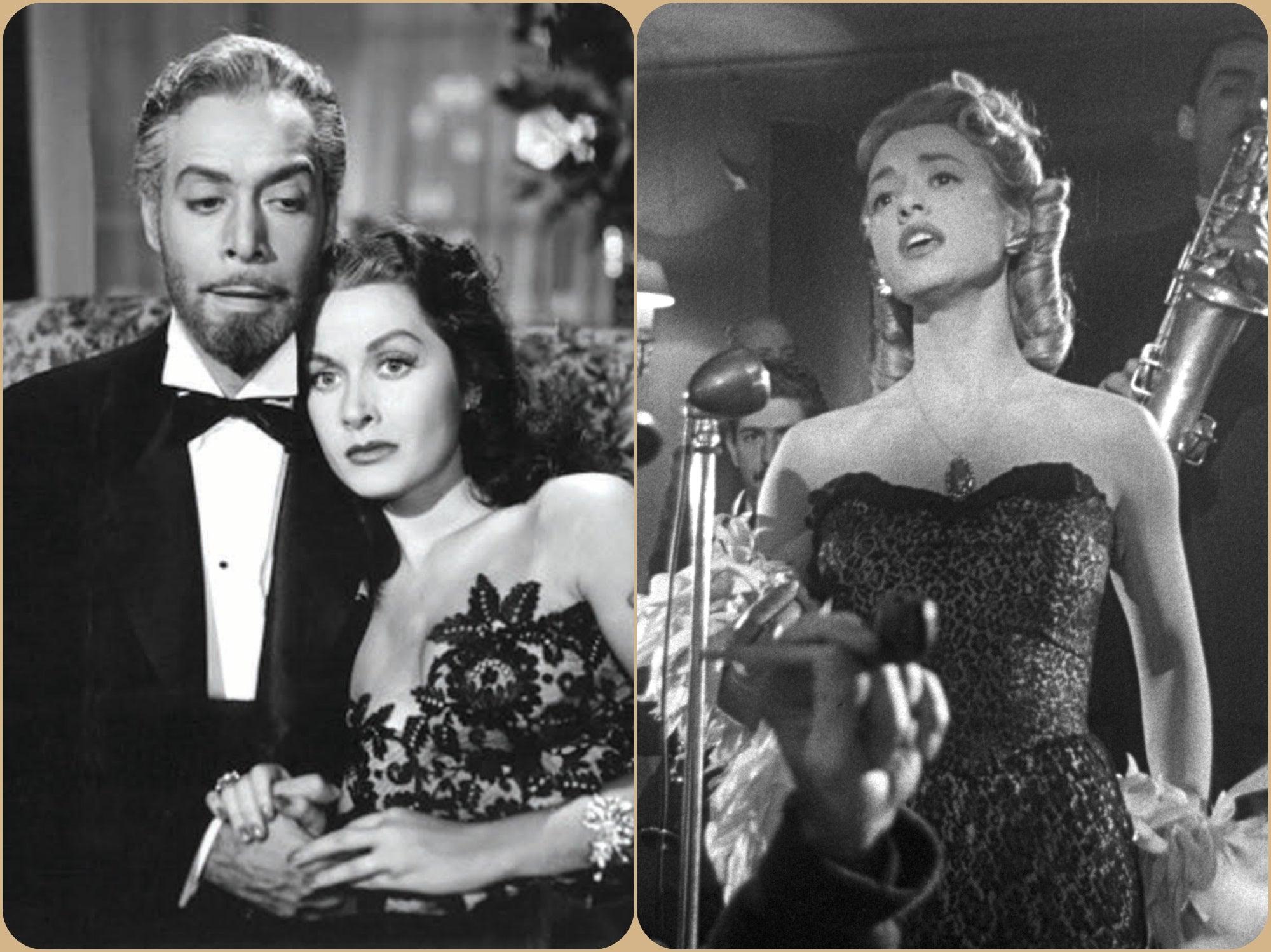 "Scenes from ""La bestia debe morir"" and ""Vampiro negro"""