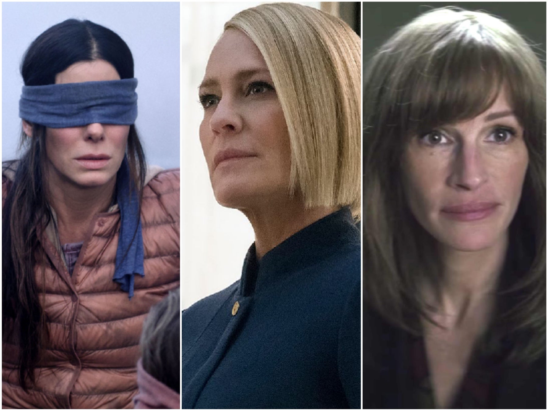 Sabdra Bullock, Robin Wright and Julia Roberts
