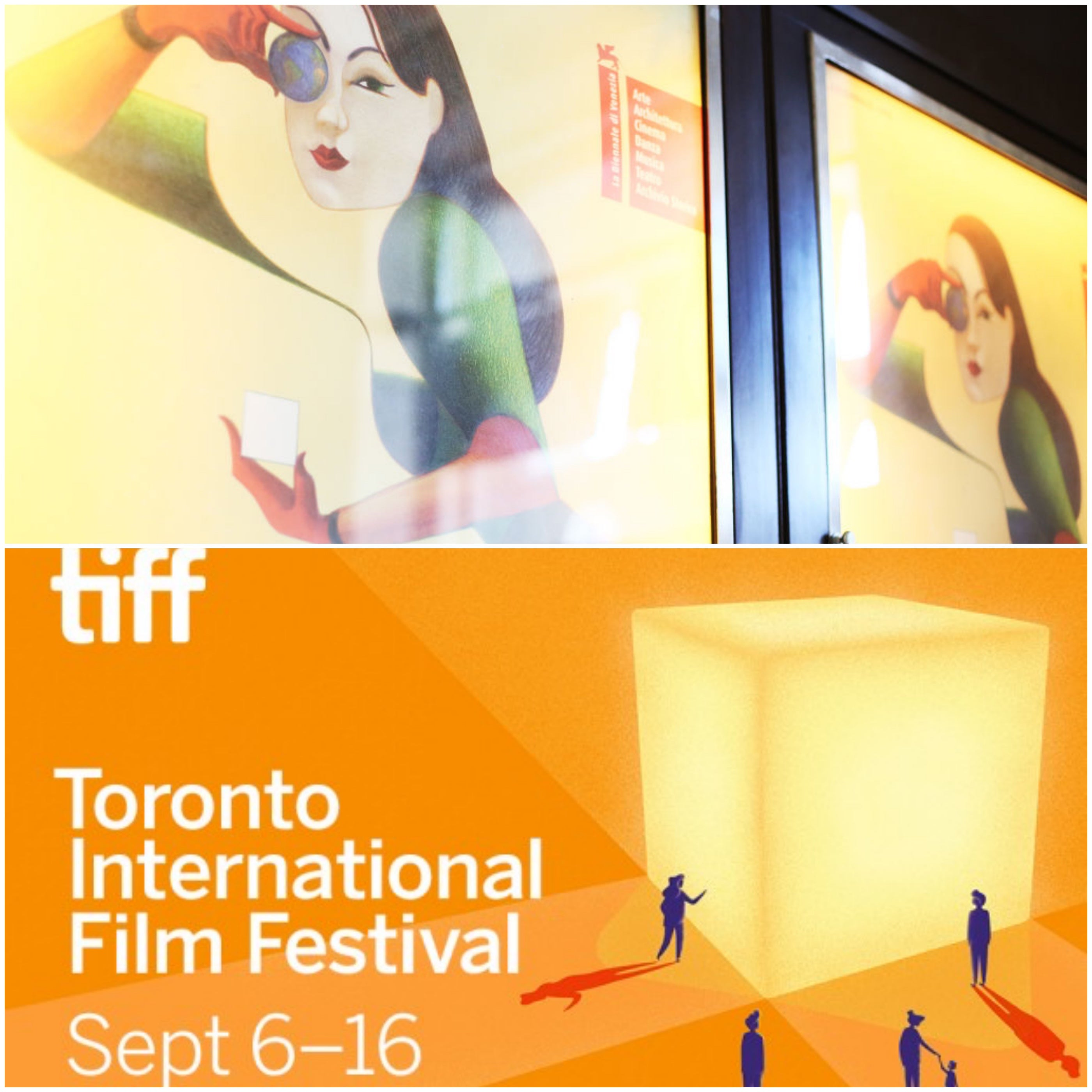 POsters for the Venice and Toronto film festivals 2018