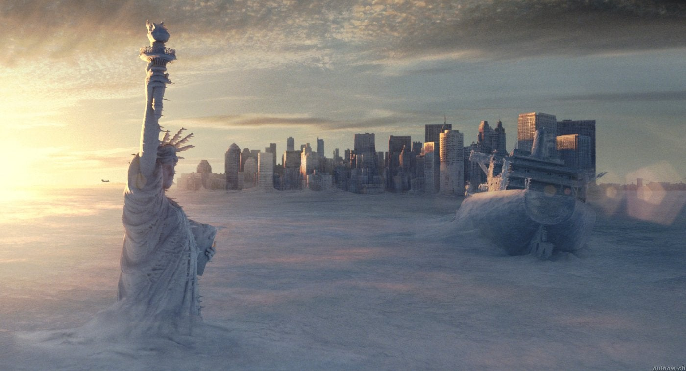 "A scene from ""The Day After Tomorrow"", 2004"