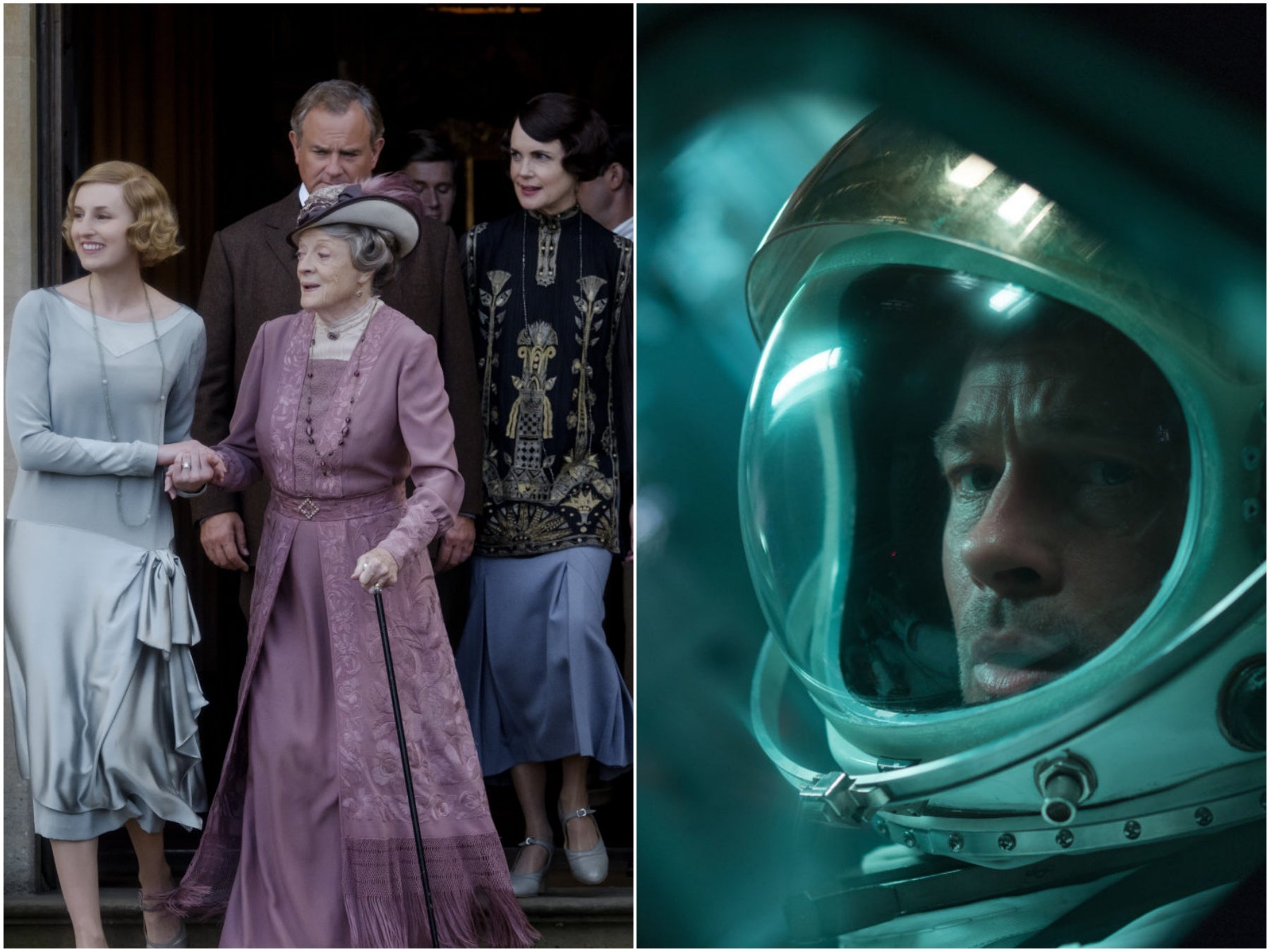 """""""Downton Abbey"""" and """"Ad Astra"""", 2019"""