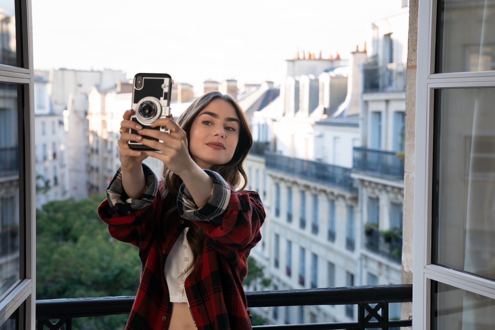 """A scene from the series """"Emily in Paris"""", 2020"""