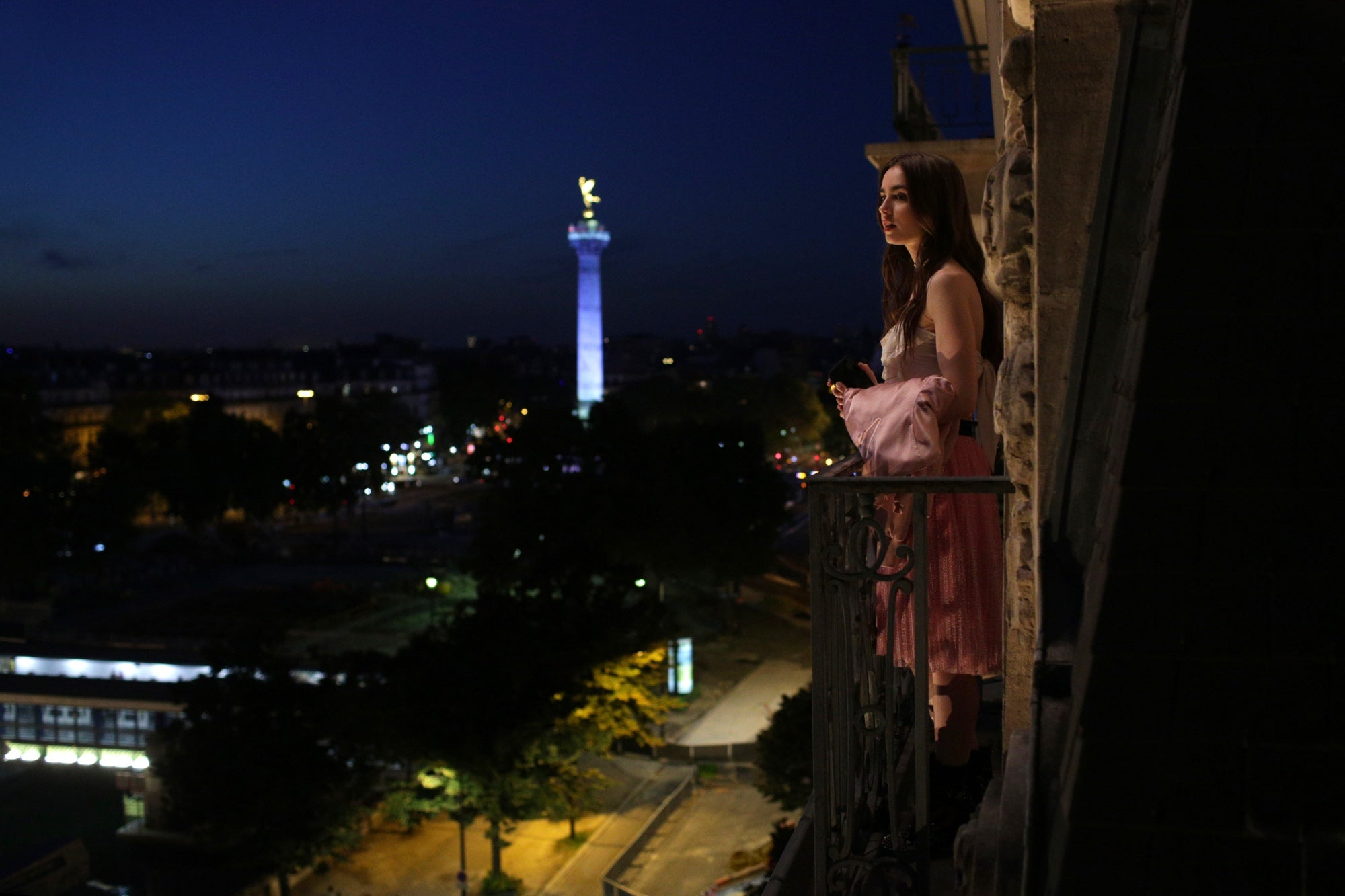 "A scene from ""Emily in Paris"", 2020"