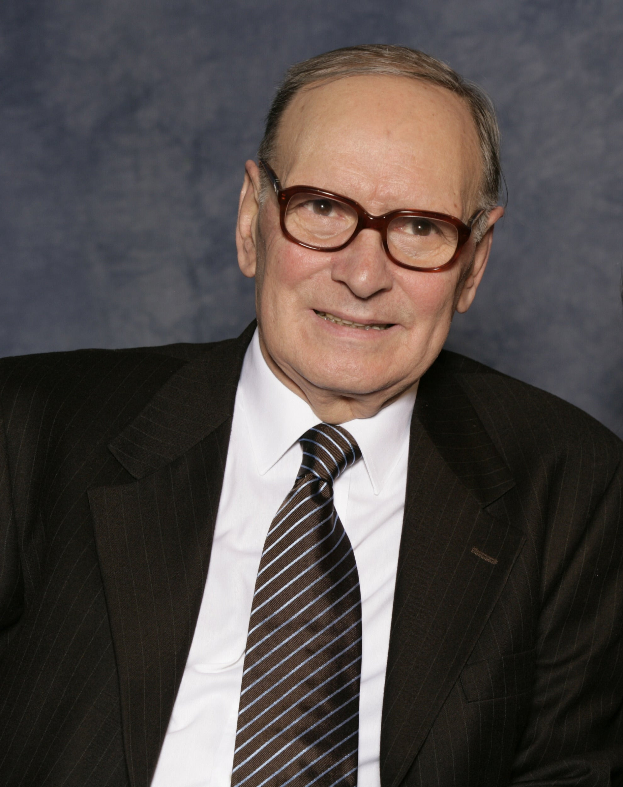 Composer Ennio Morricone, Golden Globe winner