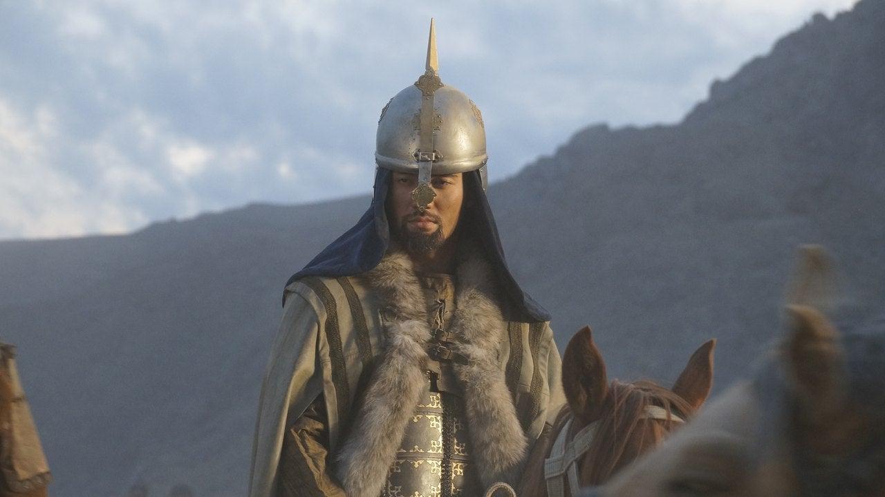 "A scene from ""Amanat"", Kazaksthan"