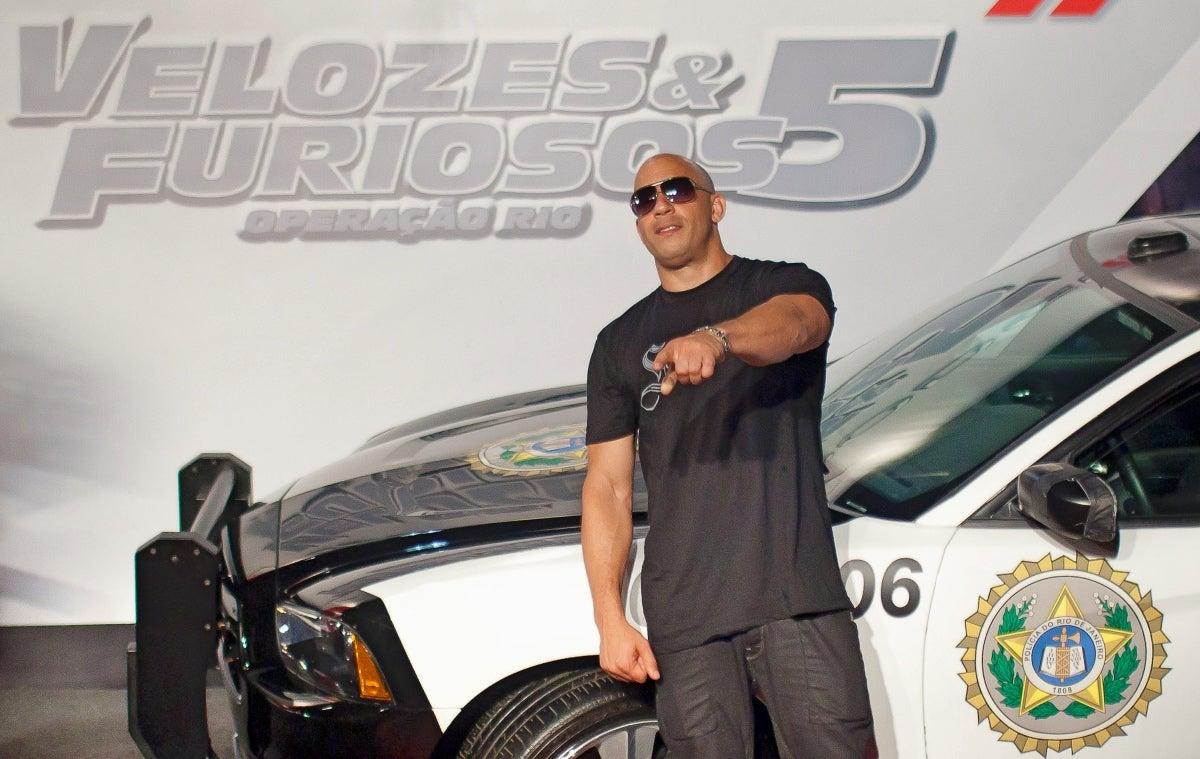 Premiere Fast and Furious 5 in Rio de Janeiro, Brazil, 2011