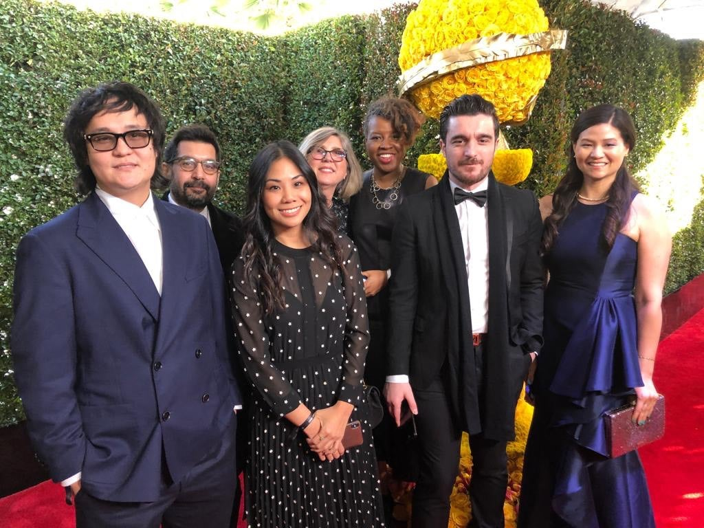 2018 Residency Fellows attend the Golden Globes