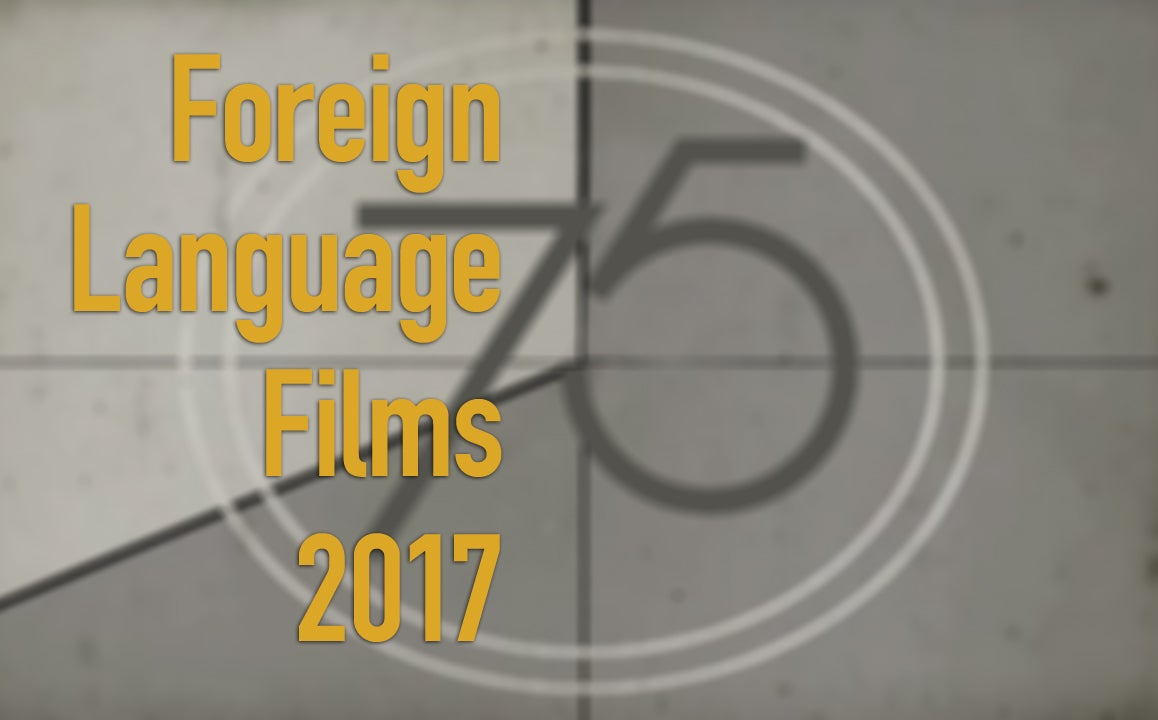 Foreign Language Films 2017