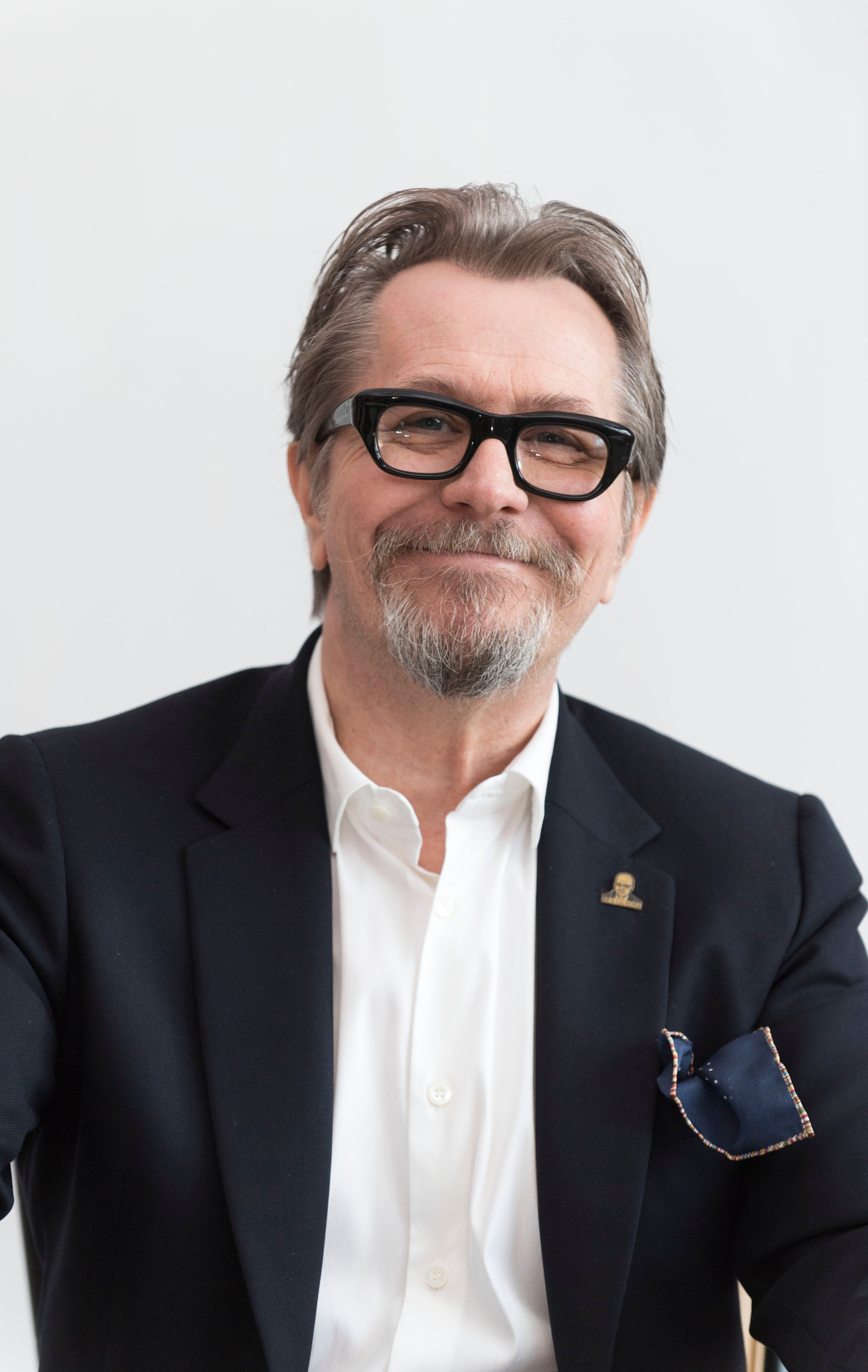 Actor Gary Oldman, Golden Globe nominee
