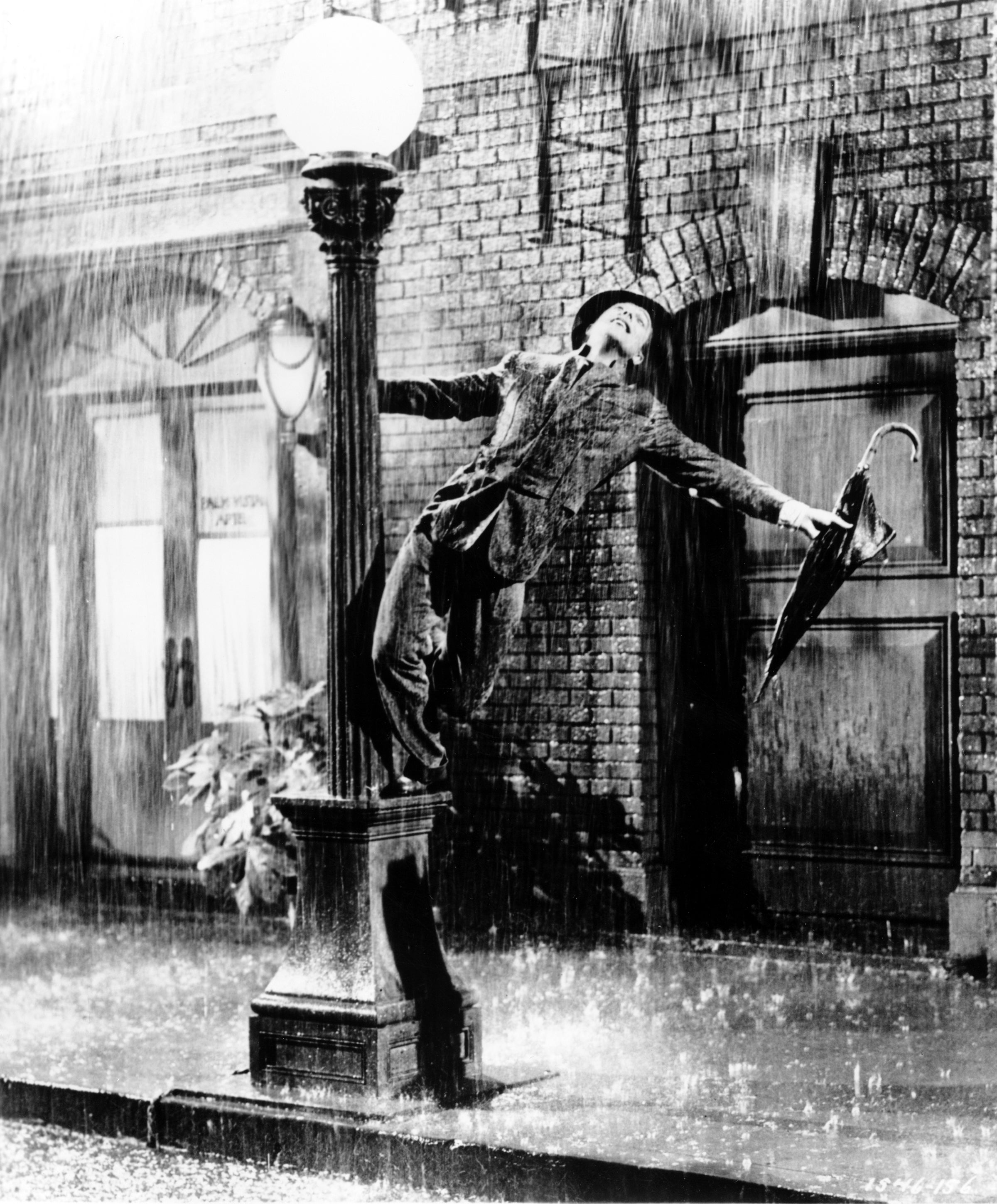 "A scene from ""Singin' in the Rain"", 1952"