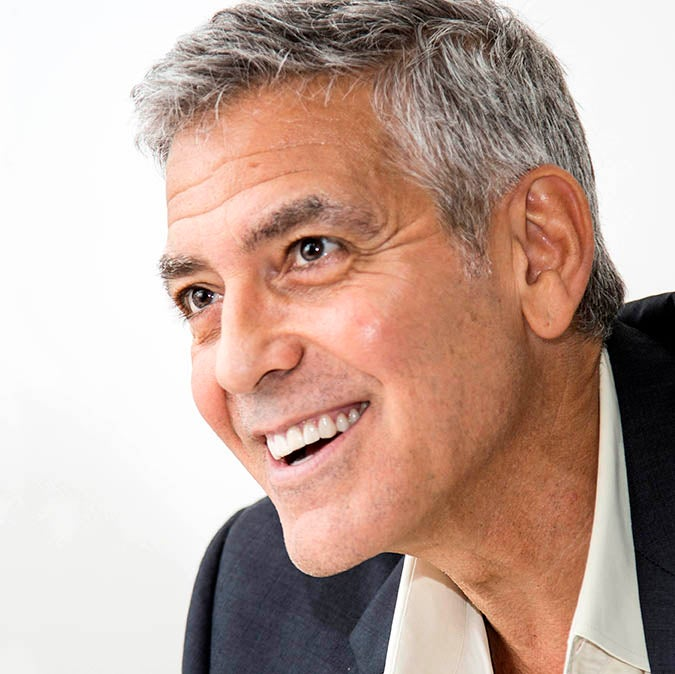 Golden Globe winner George Clooney in Venice, 2017