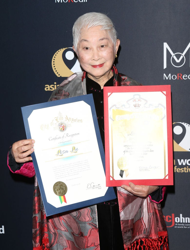 Actress and HFPA member Lisa Lu receives lifetime award