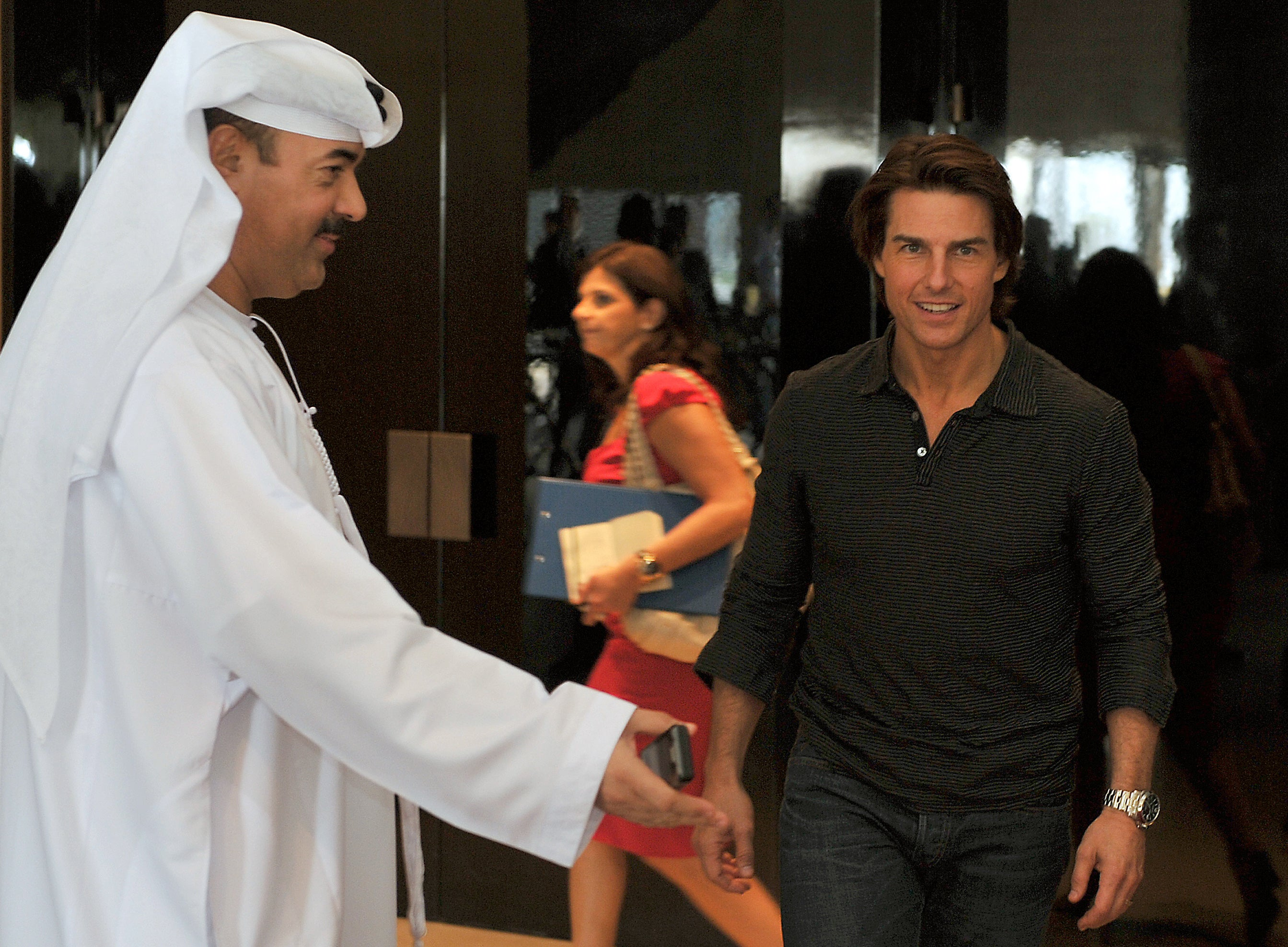 "Tom Cruise in Dubai,""Mission: Impossible Ghost Protocol"""
