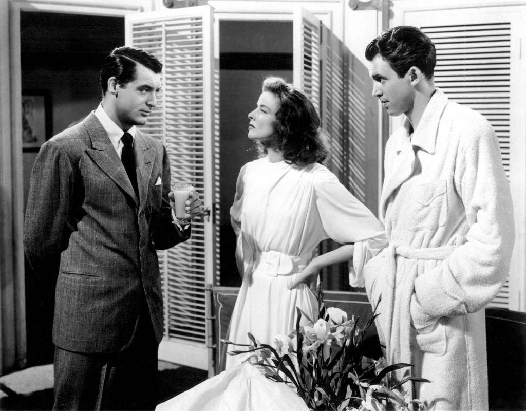 "A scene from ""The Philadelphia Story"""