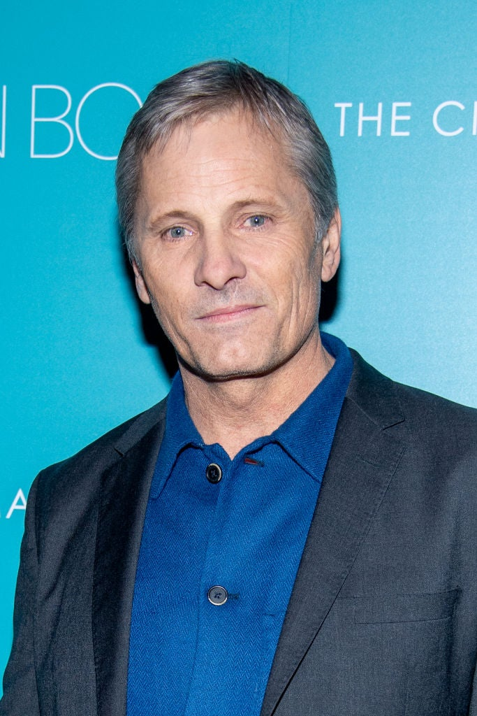 Actor Viggo Mortensen, Golden Globe nominee