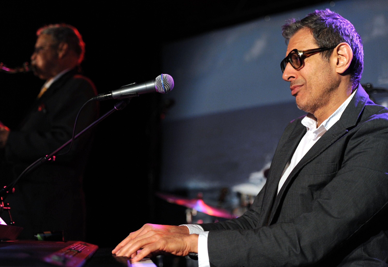 Jeff Goldblum at the piano