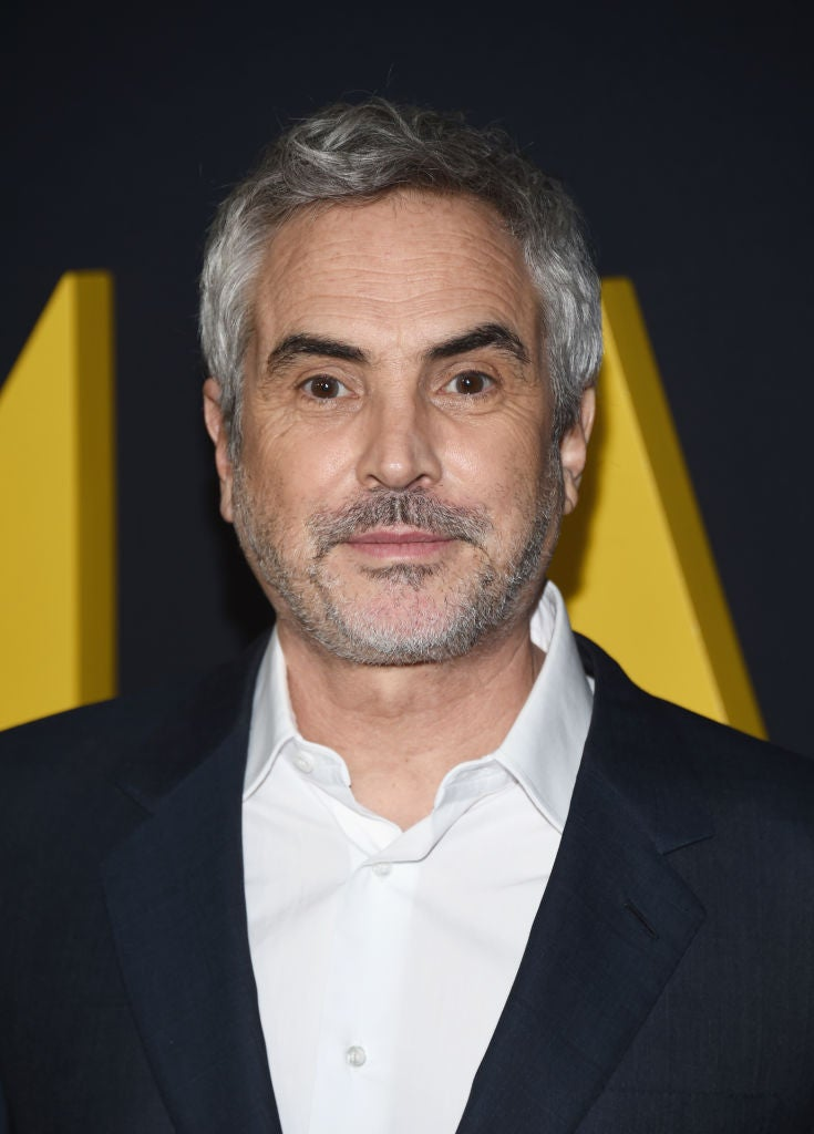 Director Alfonso Cuarón, Golden Globe winner