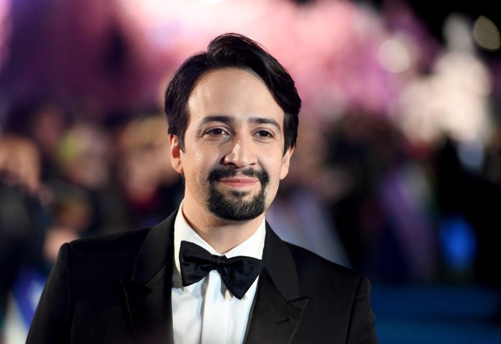 Actor, composer, singer, actor Lin Manuel Miranda, Golden Globen nominee