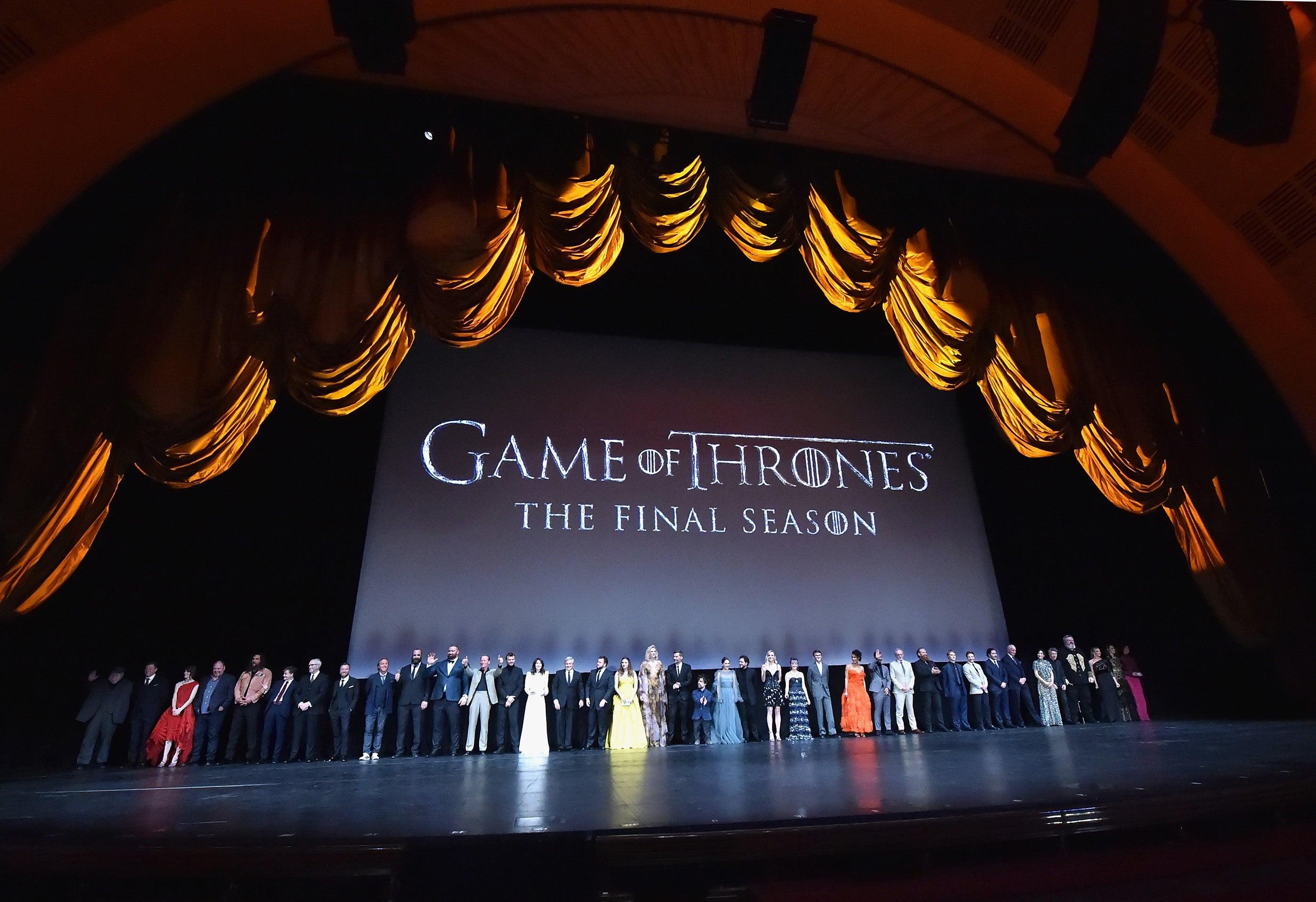 El Elenco De Game Of Thrones Celebro En Nueva York Su Temporada