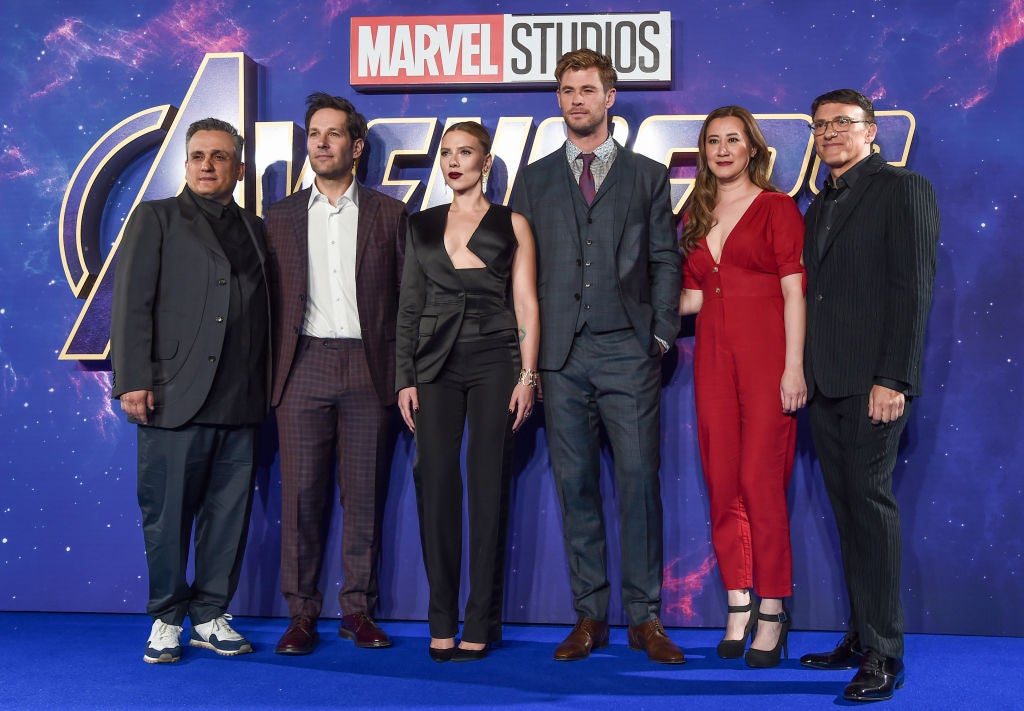 Cast and directors of Avengers: Endgame