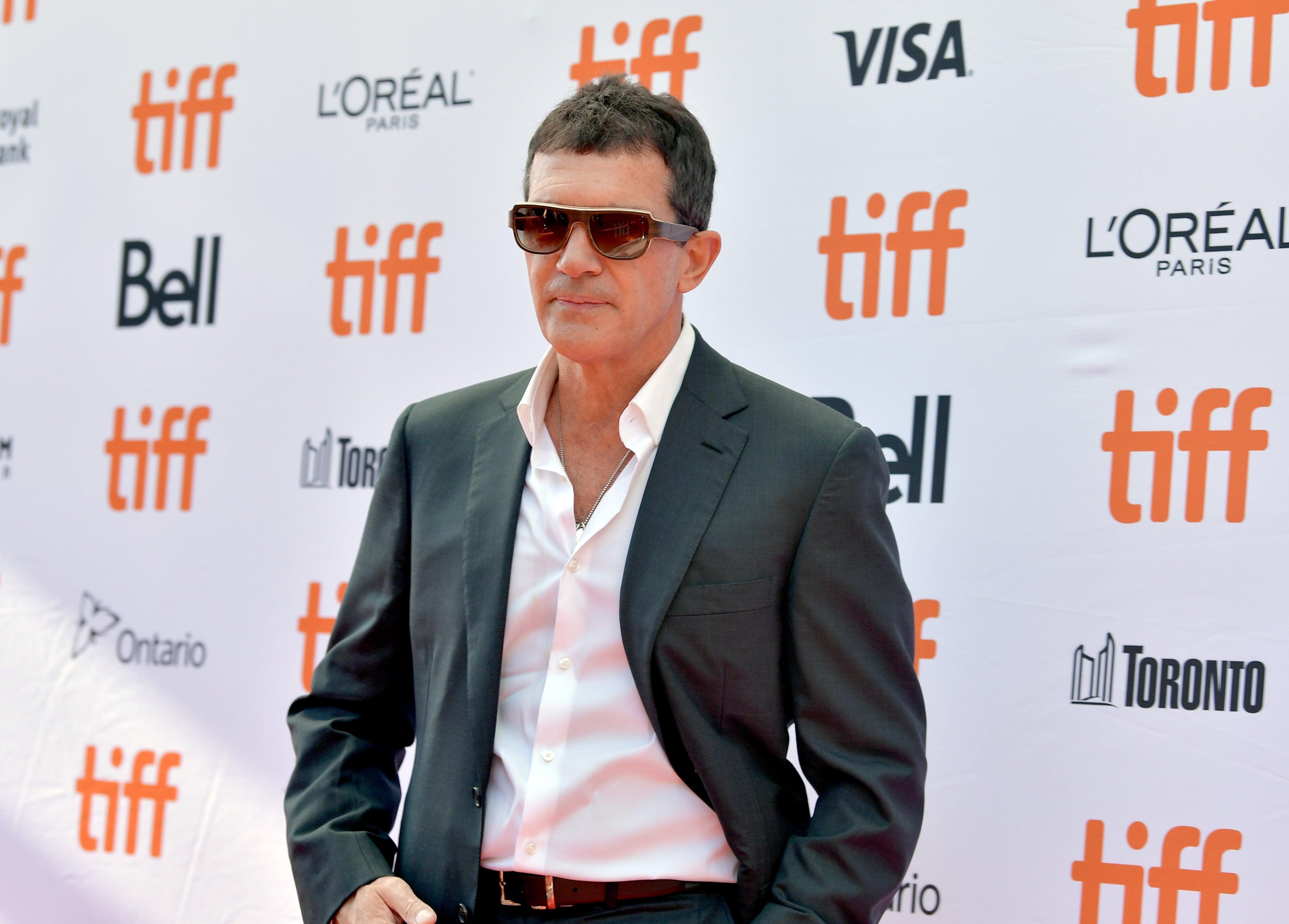 Actor Antonio Banderas, Golden Globe nominee, at TIFF 2019