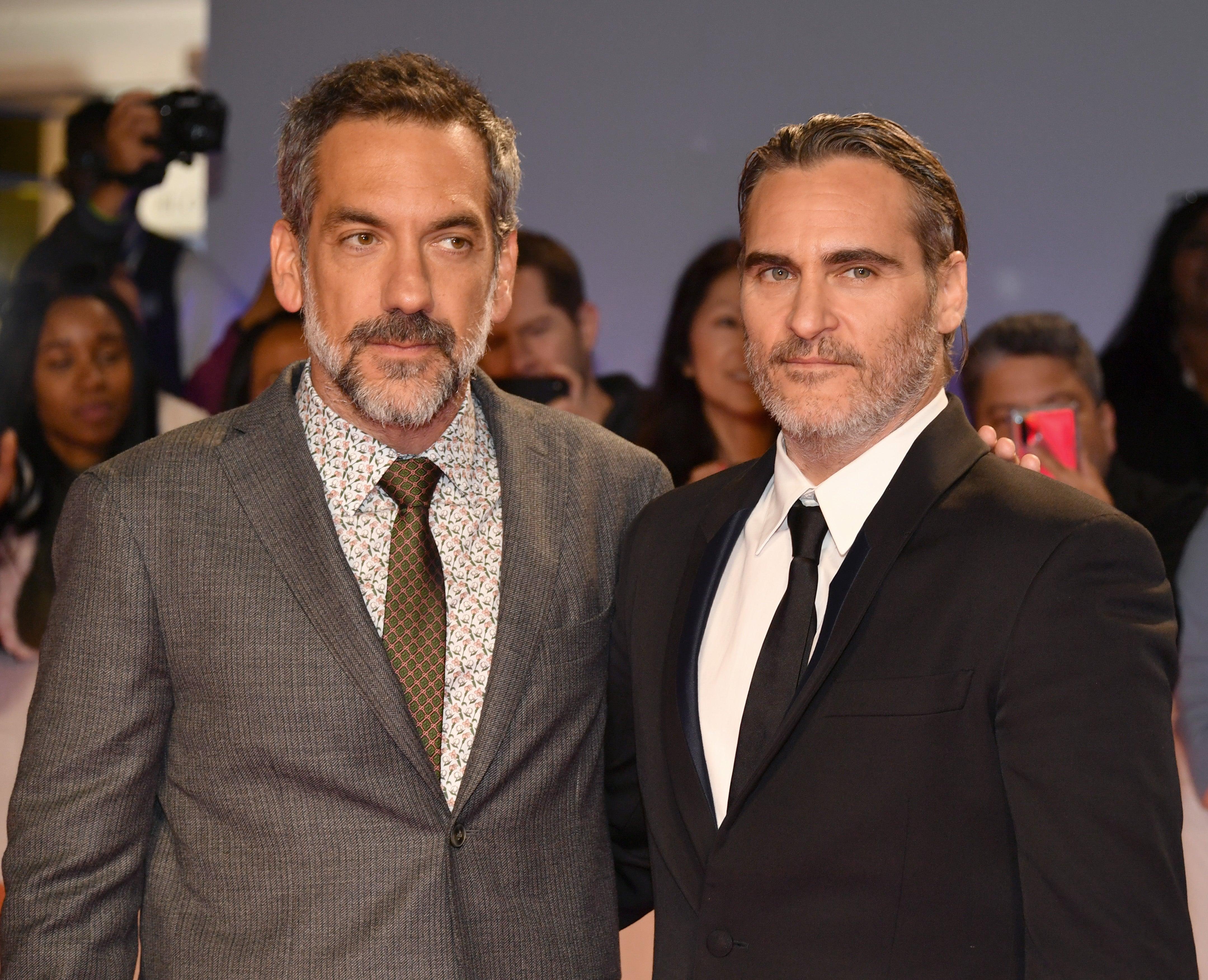 Director Todd Phillips and actor Joaquin Phoenix