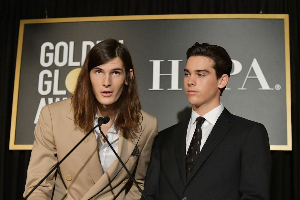 Dylan and Paris Brosnan, GG Ambassadors 2020