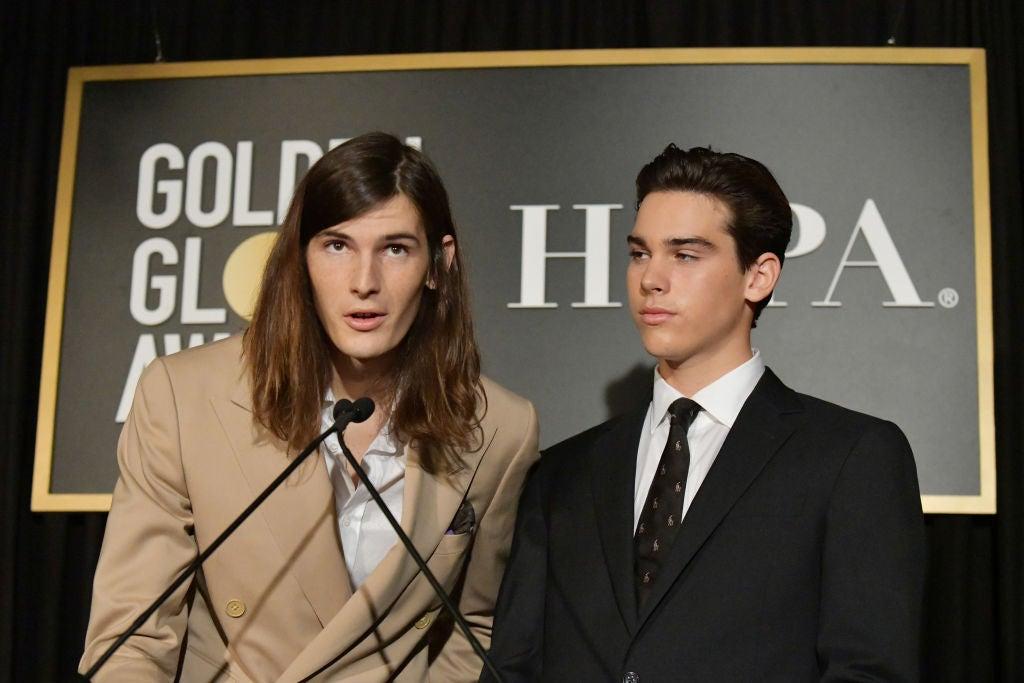 Dylan and Paris Brosnan, GG Ambassadors 2020