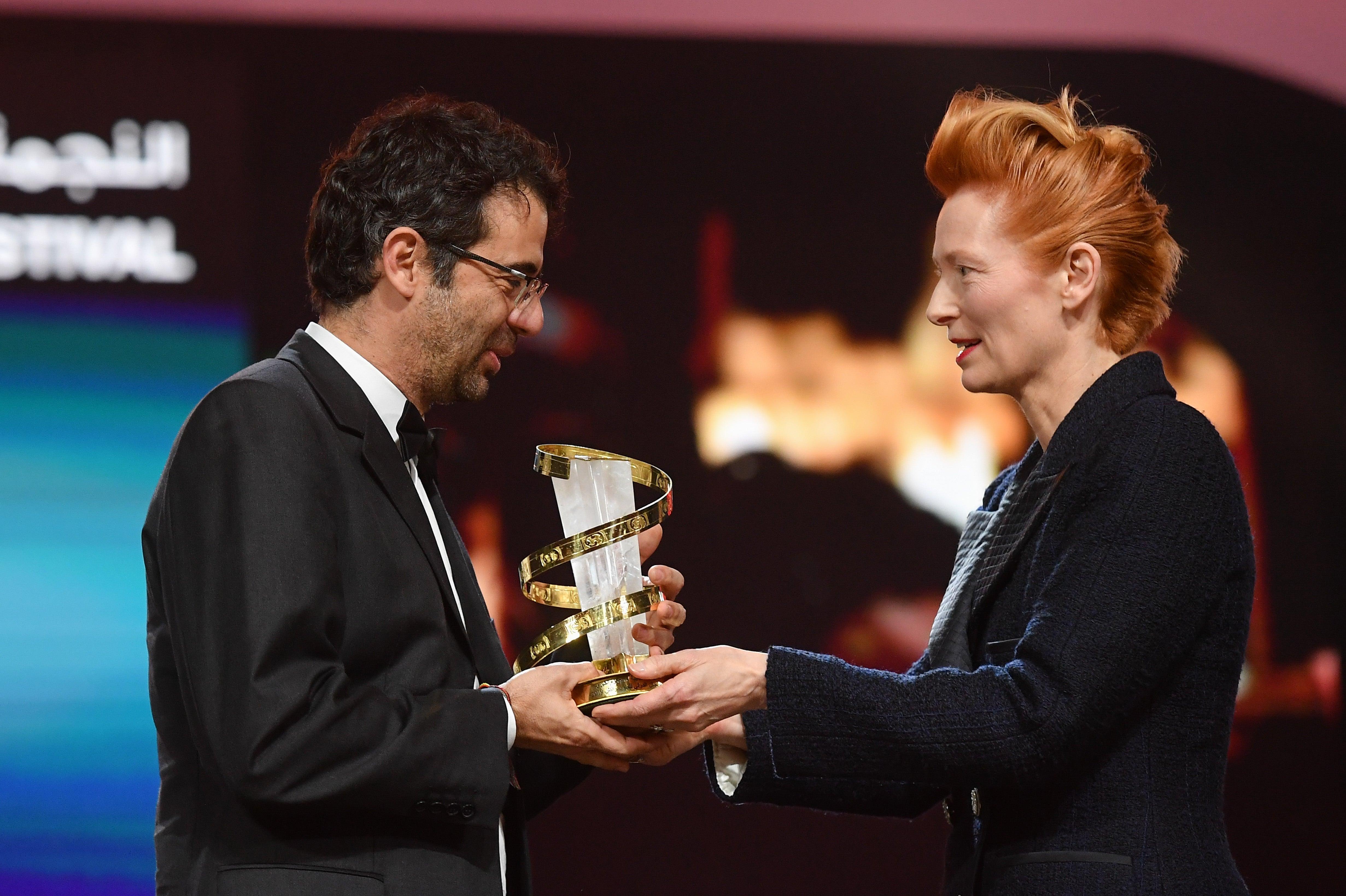 Director Nicolas Rincon Gille at the Marrakech FF 2019