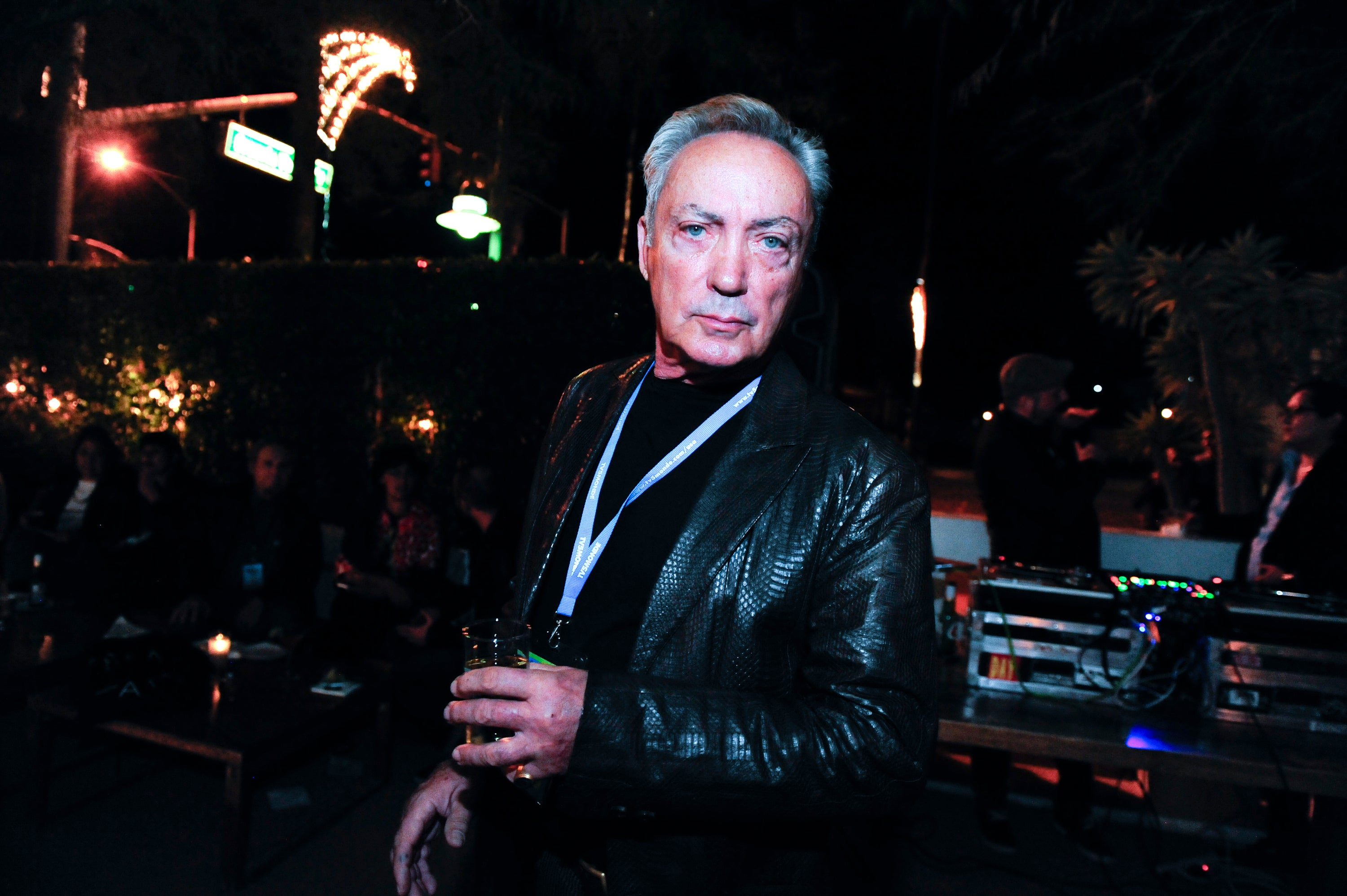 Actor Udo Kier in Palm Springs, 2016
