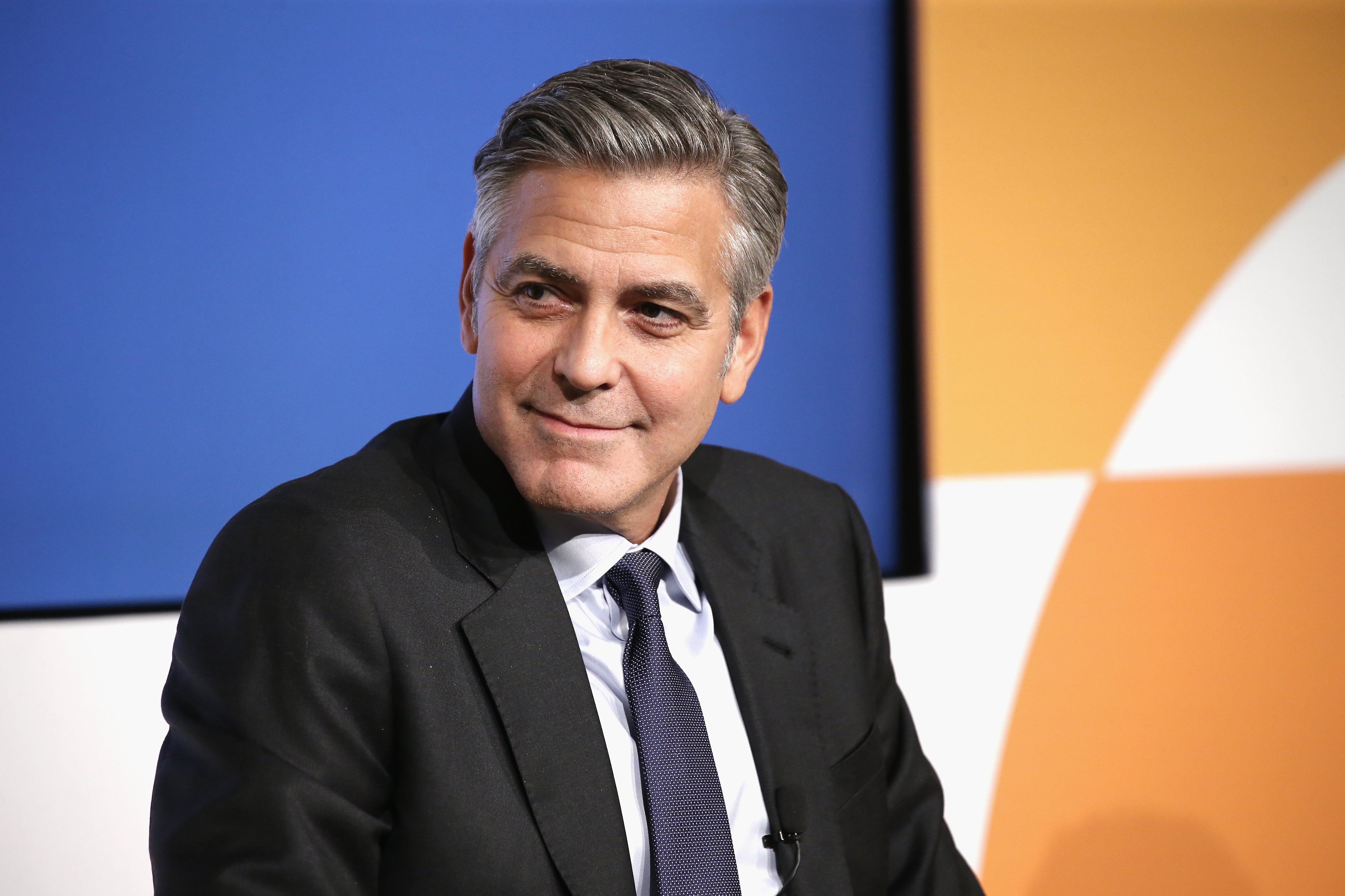 Actor, director George Clooney, Golden Globe winner