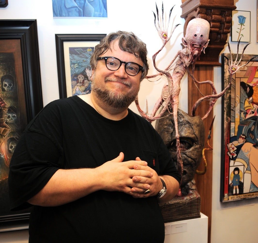 Guilhermo Del Toro within guillermo del toro: bleak house – and beyond | golden globes