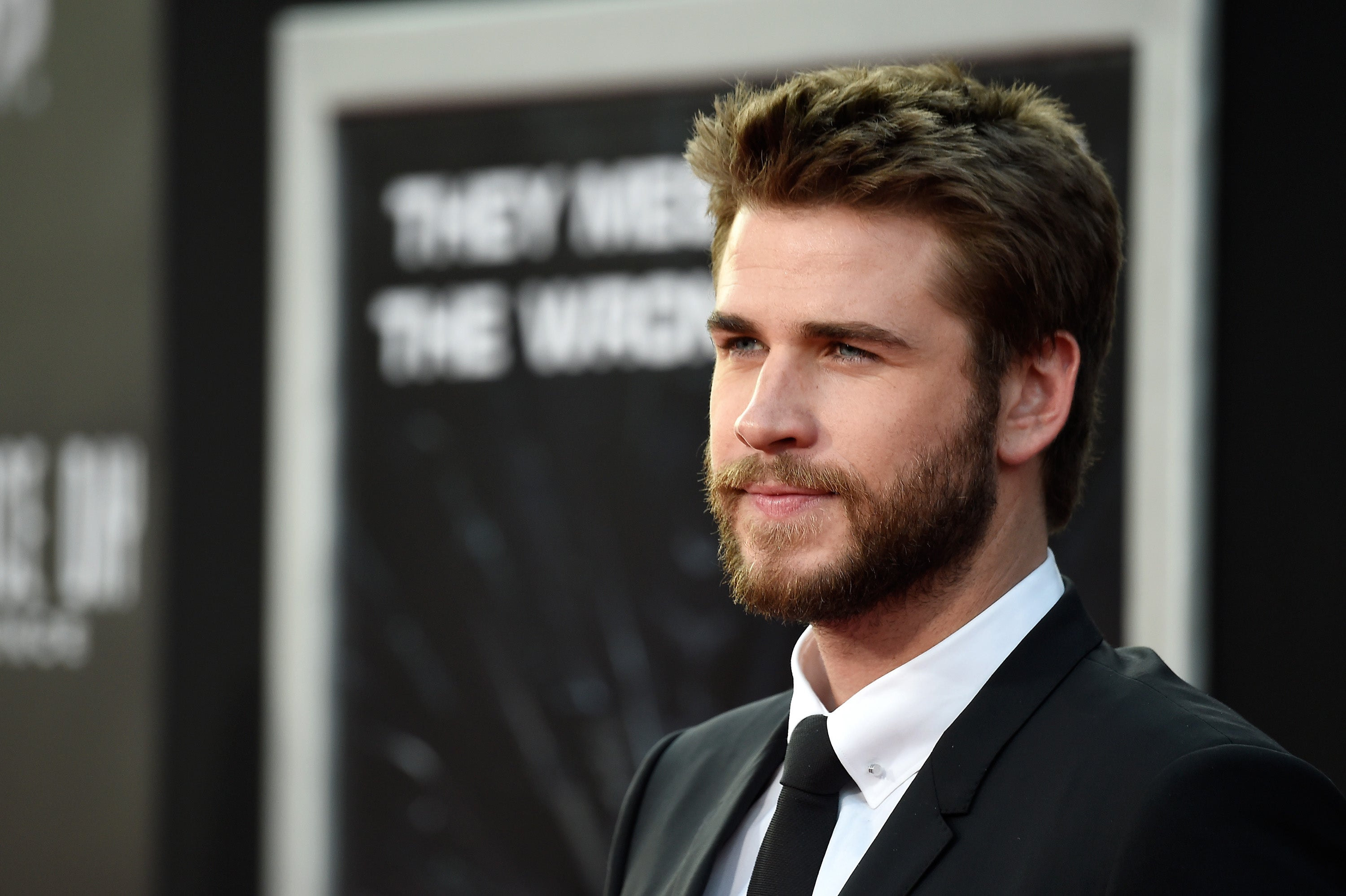 "Liam Hemsworth at the premiere of ""Independence Day:Resurgence"""