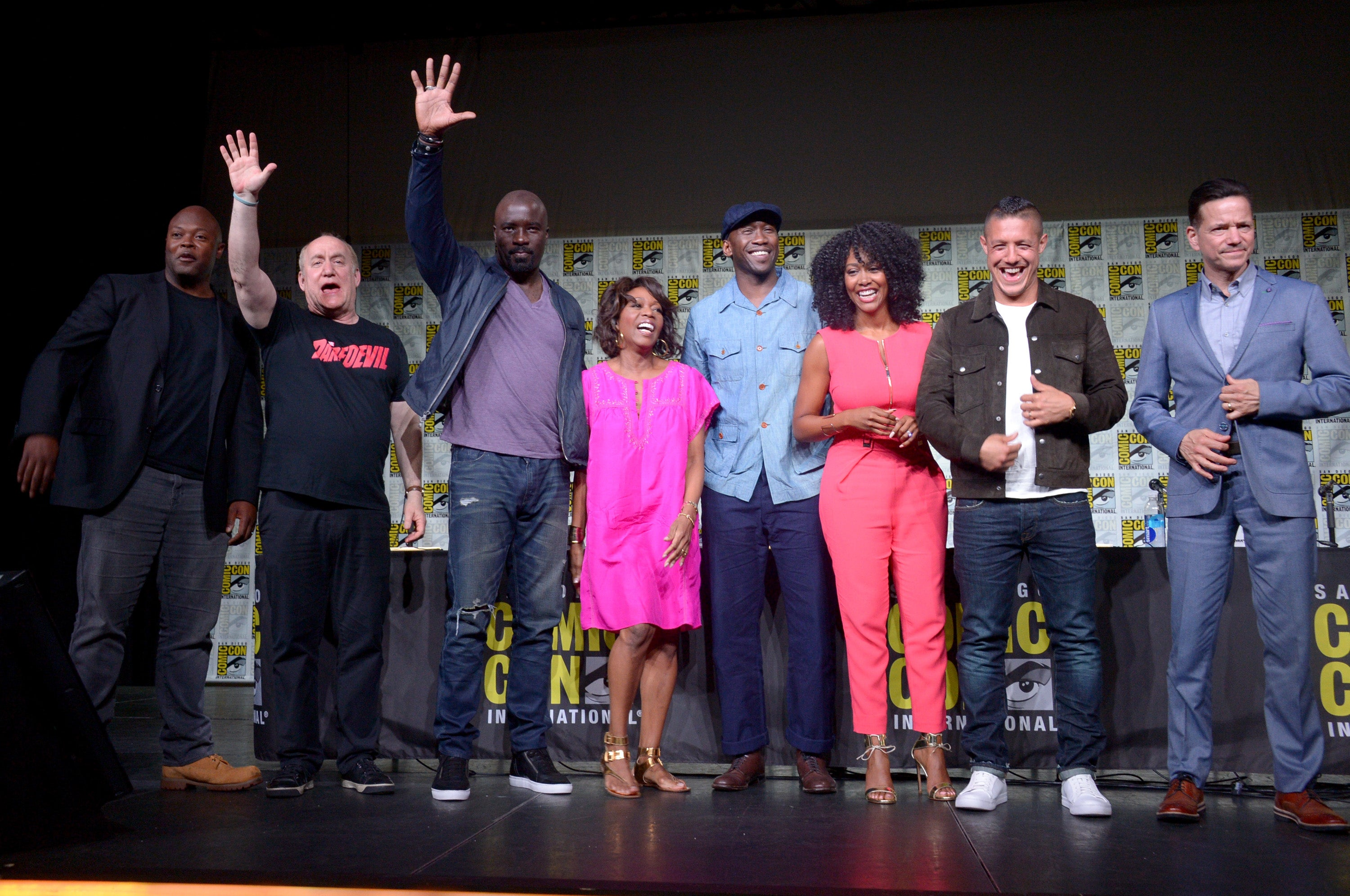 """Luke Cage"" presentation at Comic-Con 2016"