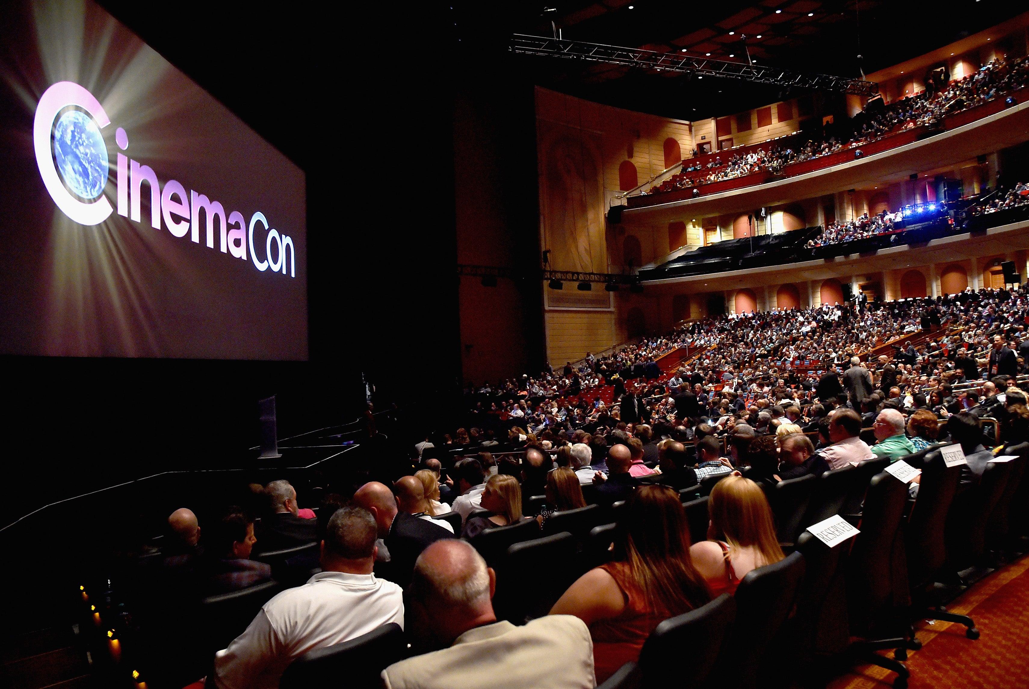 Opening Night Gala at CinemaCon 2017, Las Vegas