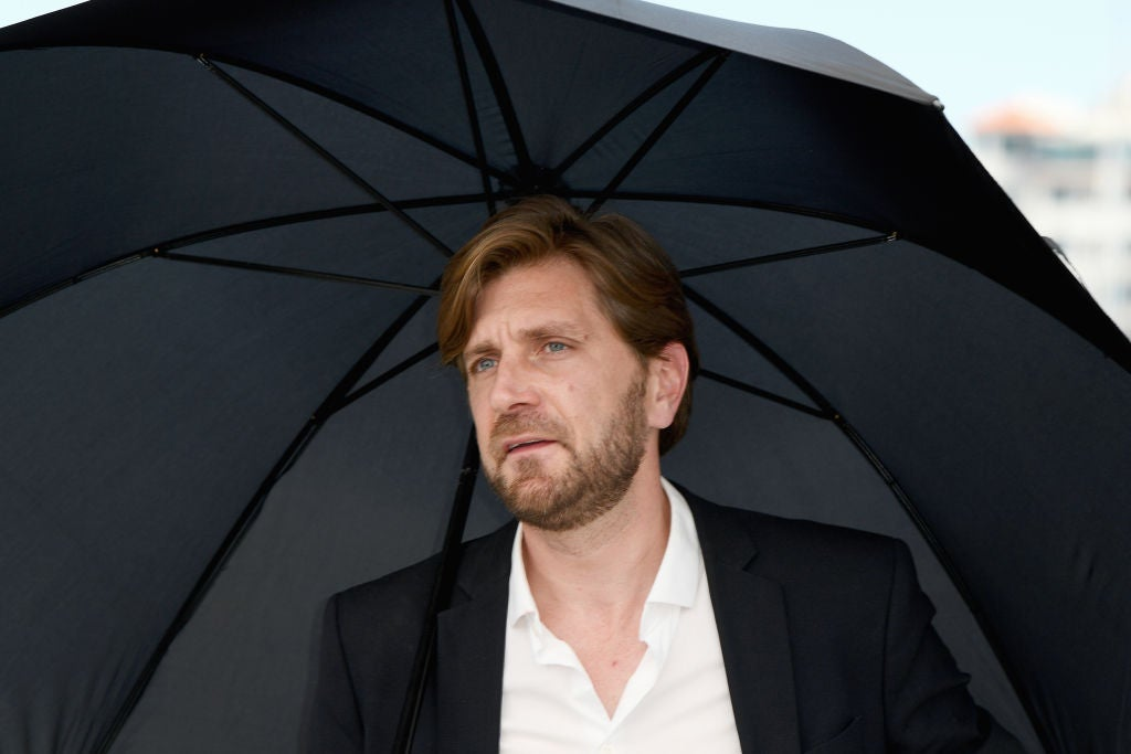 Directro Ruben Ostlund, winner of the 2-17 Cannes Film Festival